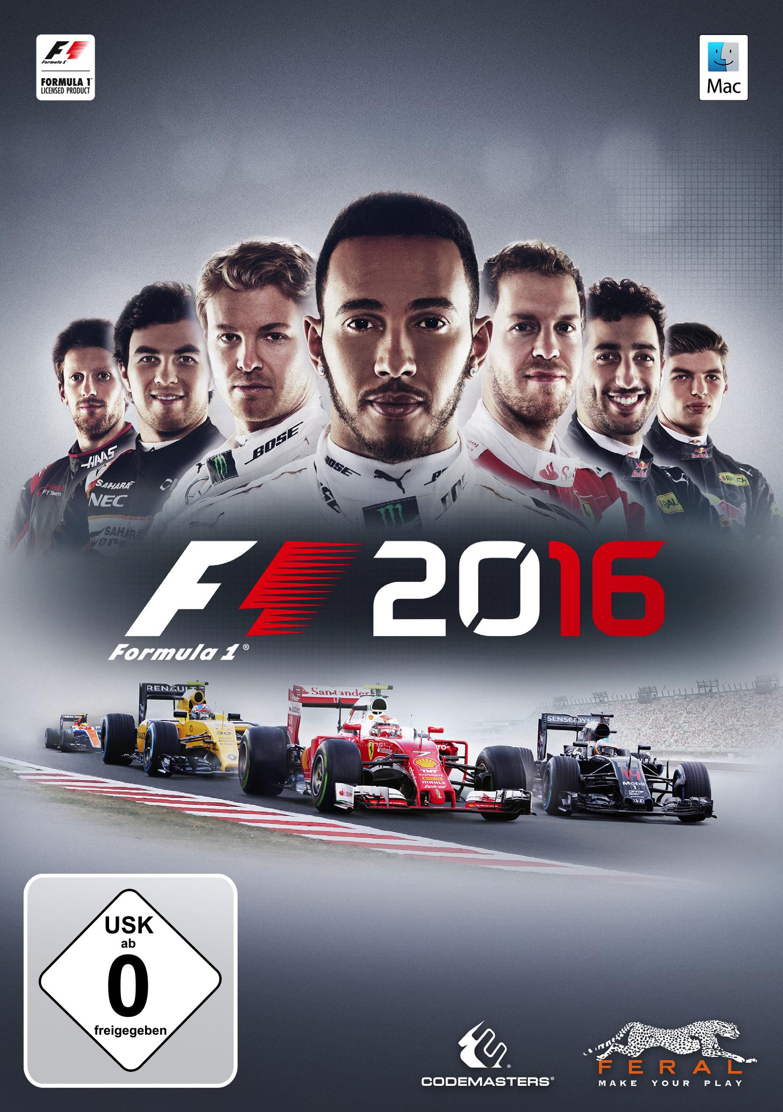 F1 2016 (Mac) [Mac Code - Steam]