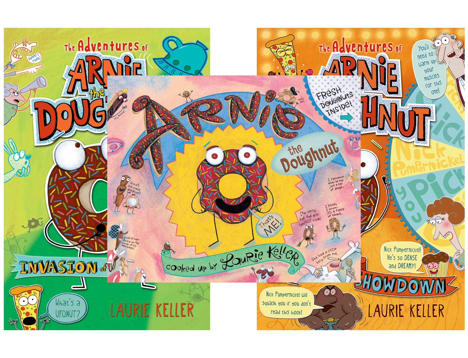 The Adventures of Arnie the Doughnut (3 Book Series)