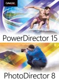 CyberLink PhotoDirector 8 & PowerDirector 15 Ultimate Duo [Download]