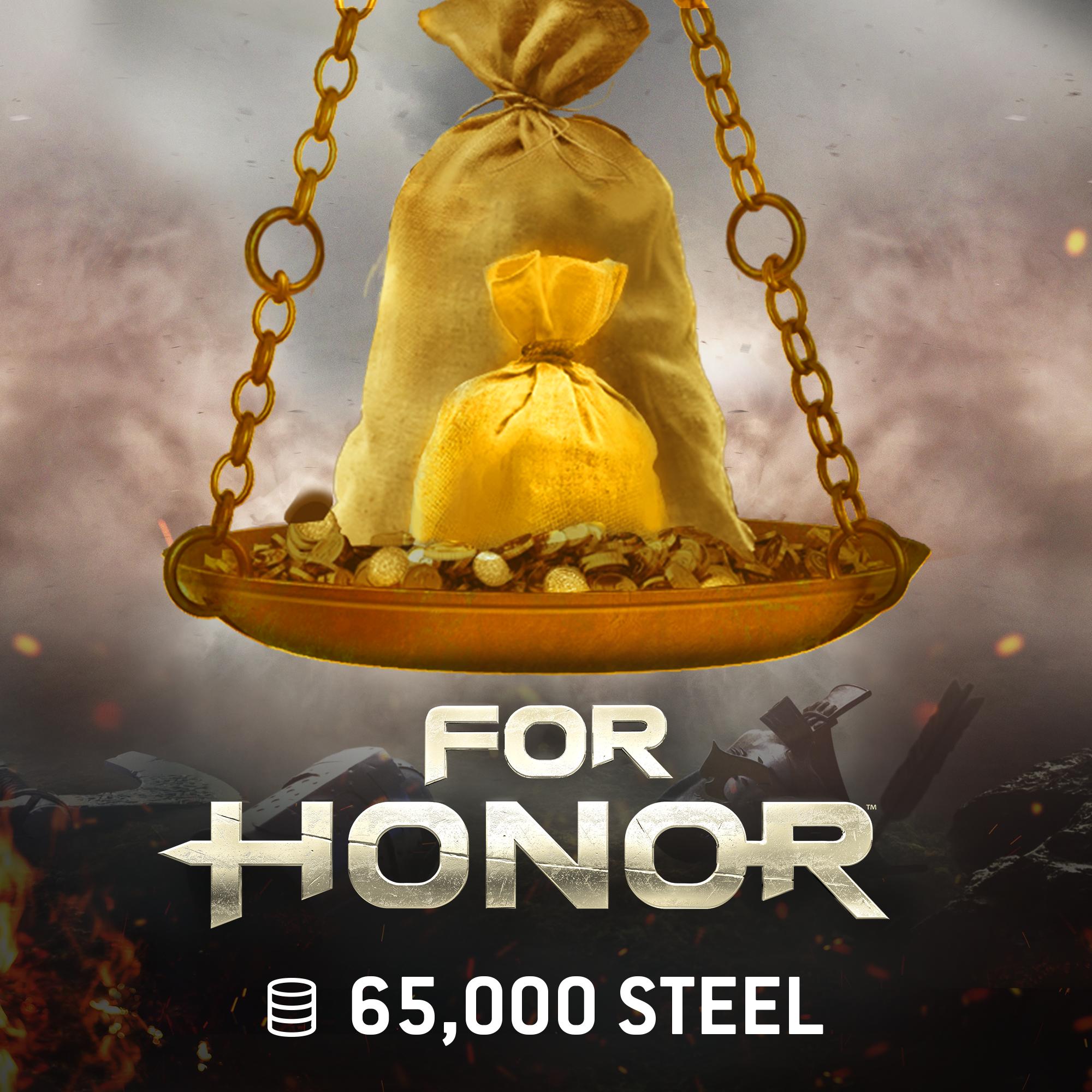 For Honor - 65000Unités d'Acier [Code Jeu PC - Uplay]
