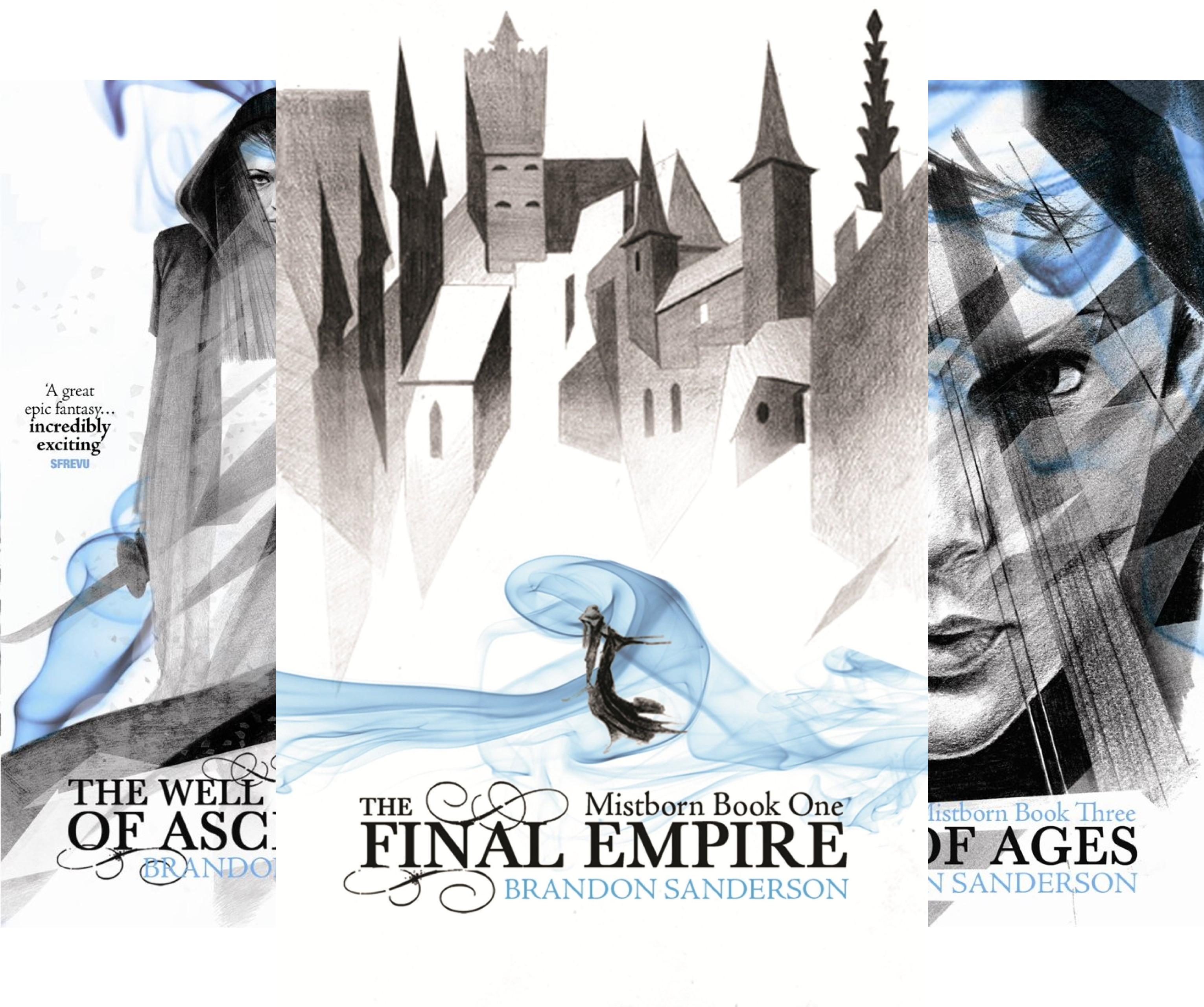 Mistborn Trilogy (Box set, includes The Final Empire, The Well of Ascension and The Hero of Ages) (3 Book Series)
