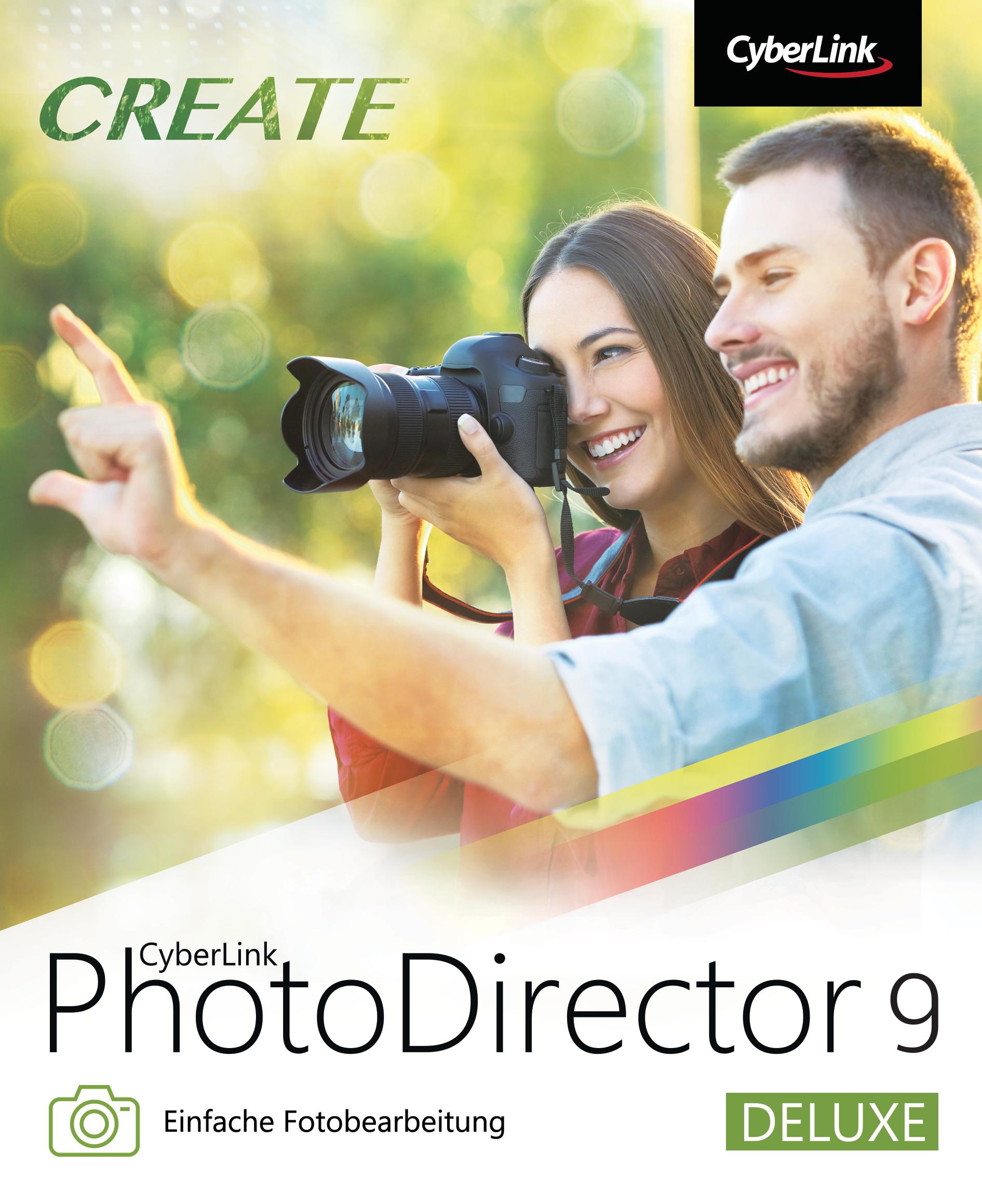 CyberLink PhotoDirector 9 Deluxe [Download]