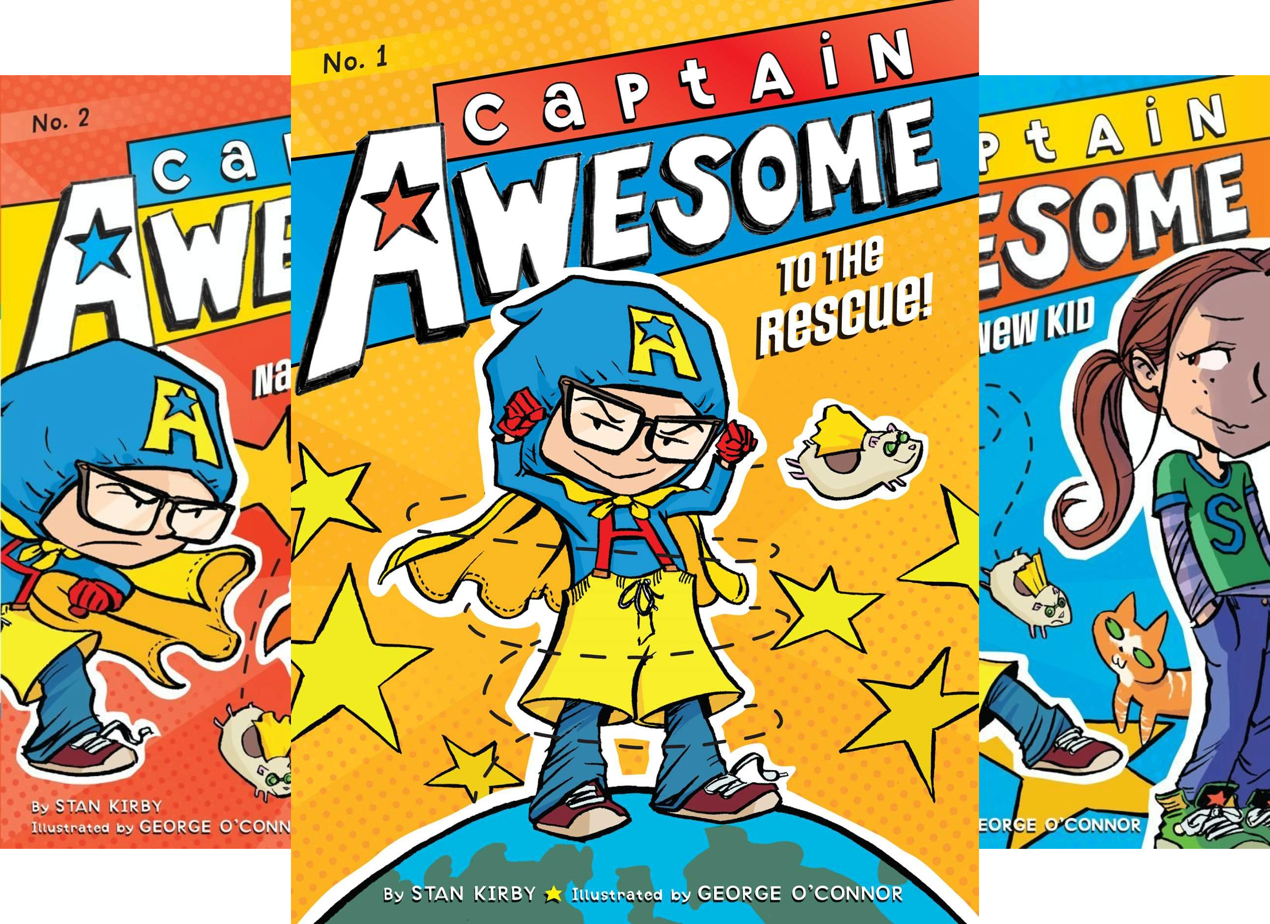 Captain Awesome (21 Book Series)