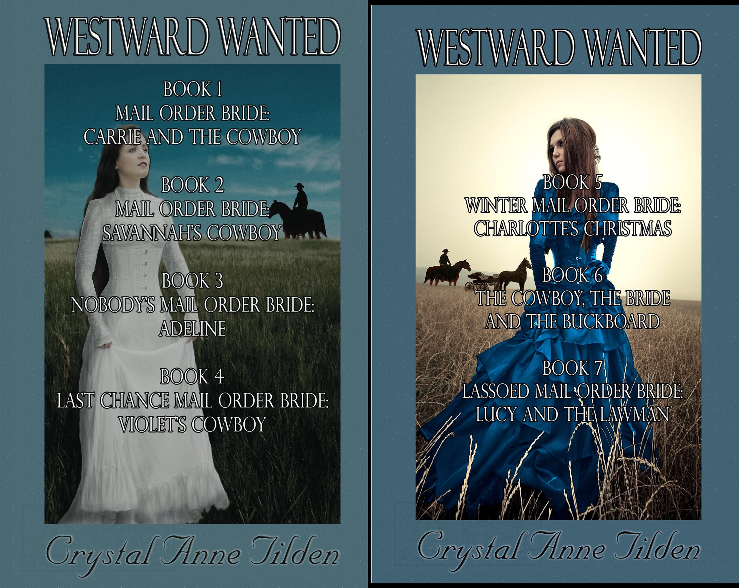Westward Wanted (2 Book Series) (Crystal Tilden)