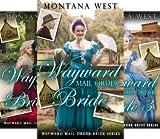 Wayward Mail Order Brides Series (Christian Mail Order Brides) (3 Book Series)