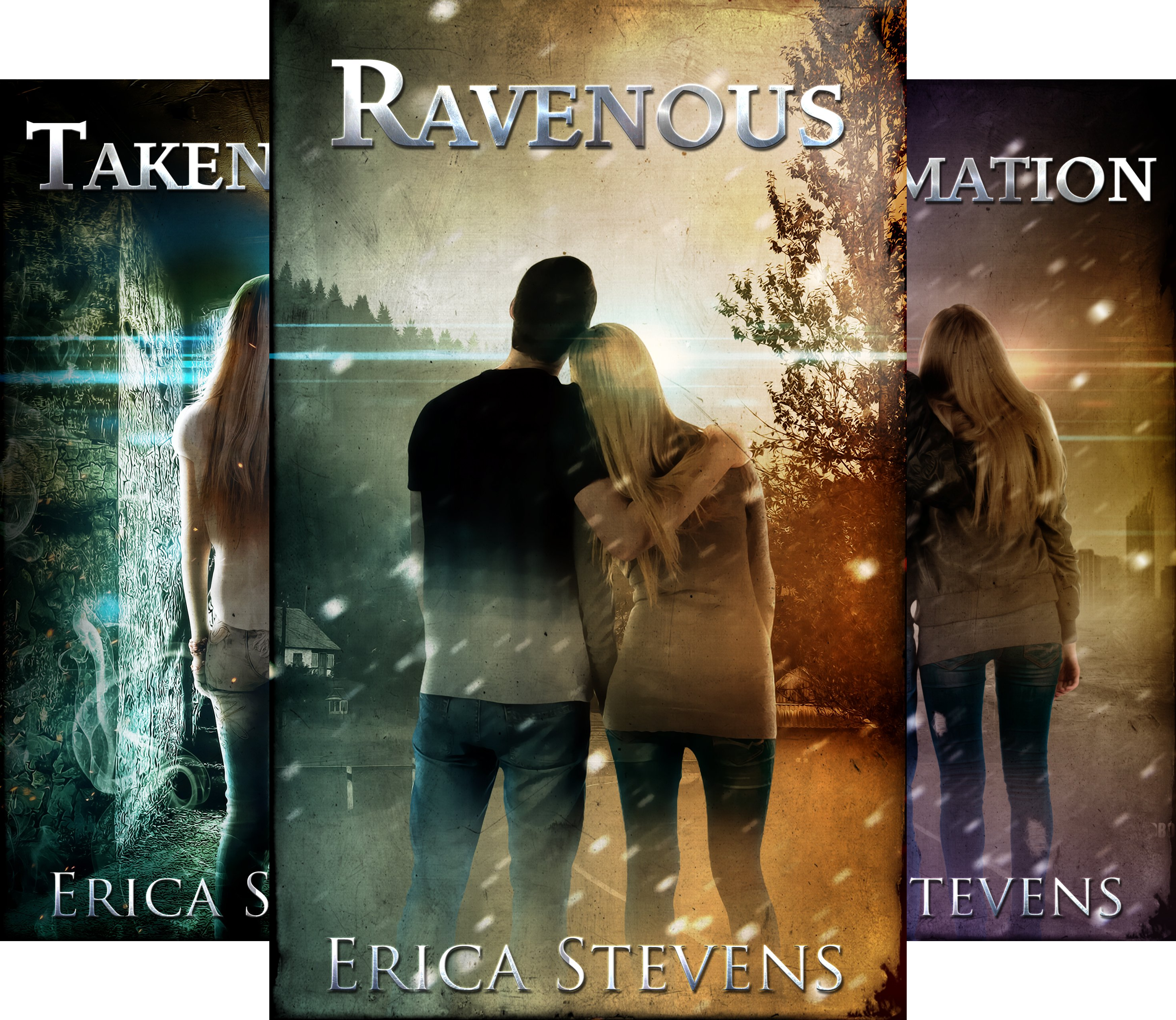The Ravening Series (3 Book Series)