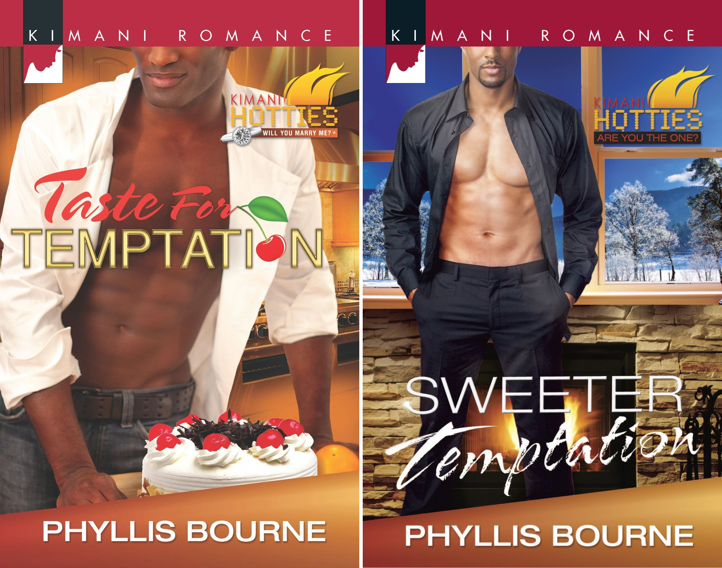 Temptation (2 Book Series) (Edition Kindle Phyllis Bourne)