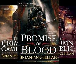 Powder Mage Trilogy (3 Book Series) by  Brian McClellan