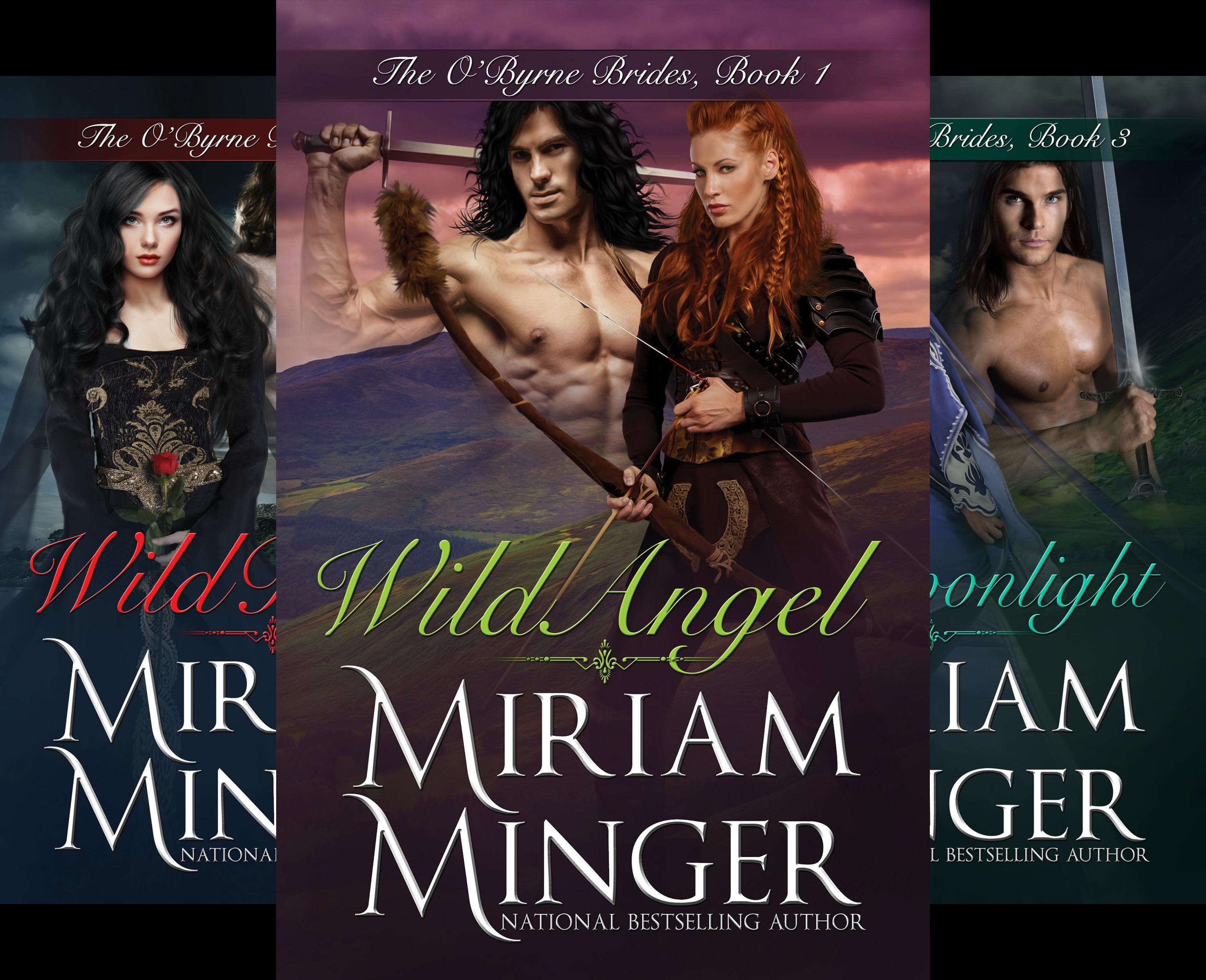 The O'Byrne Brides Series (4 Book Series) (Miriam Minger Ebooks)