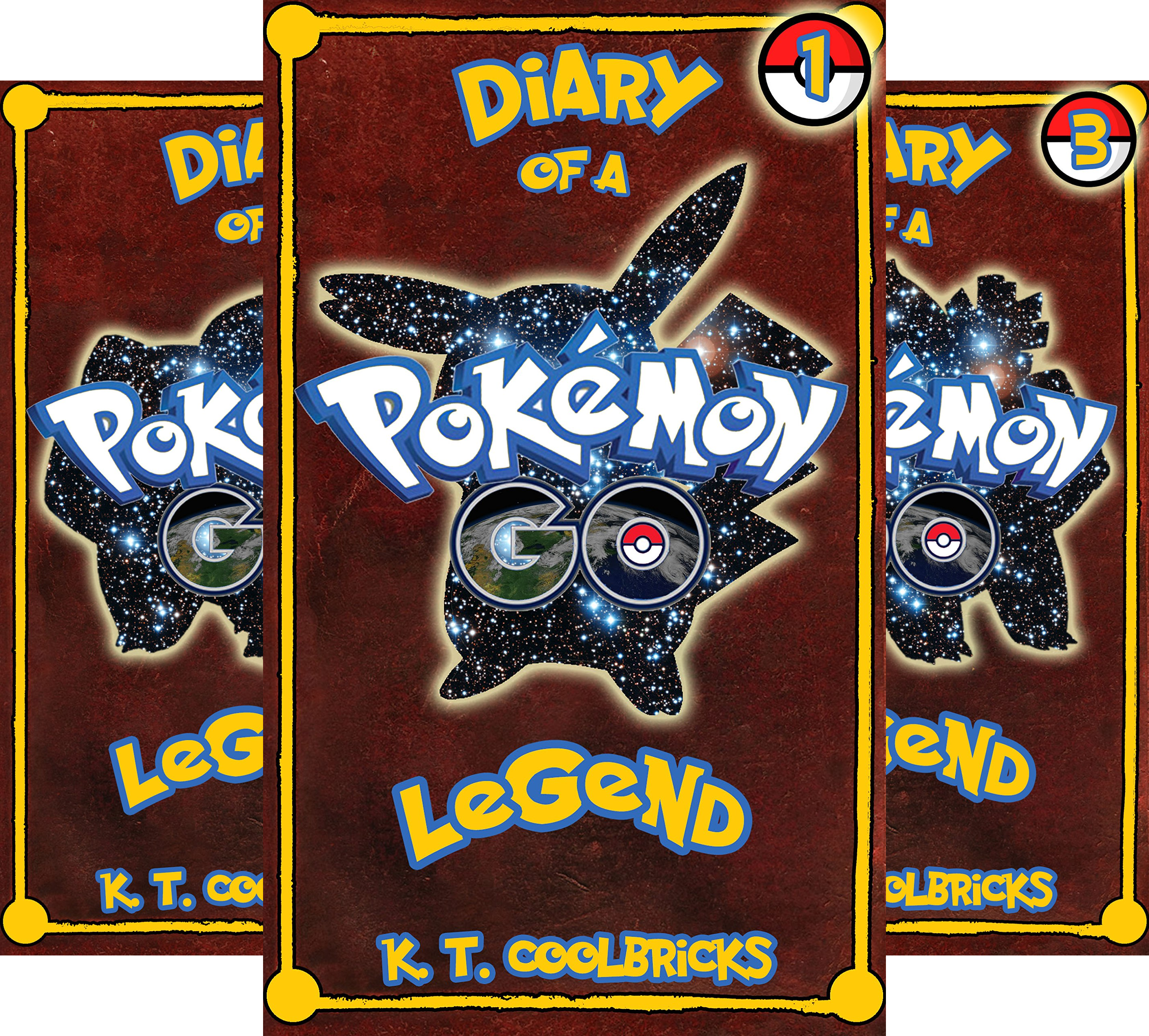 Diary of a Pokemon Go Legend (20 Book Series)
