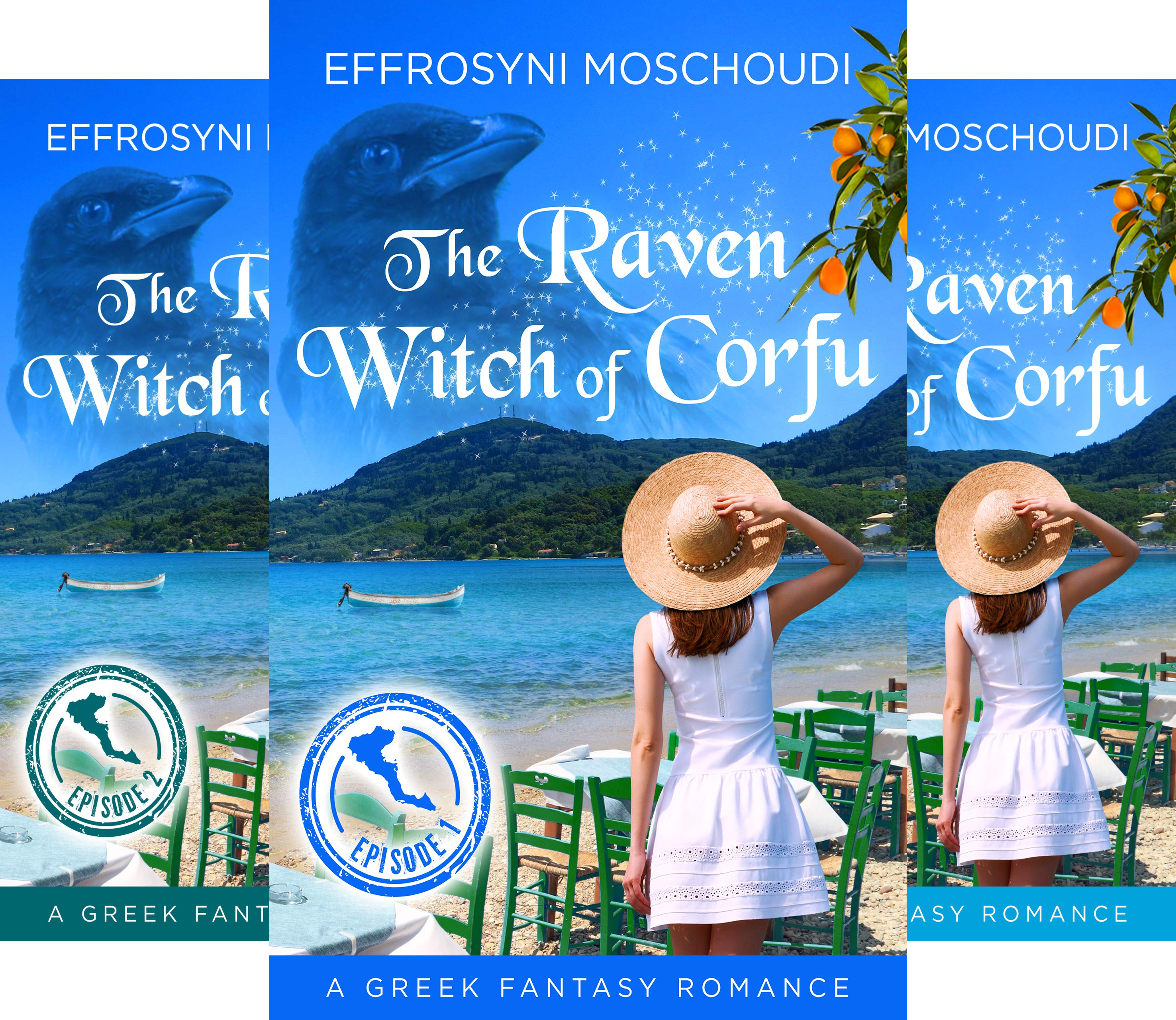The Raven Witch of Corfu series (4 Book Series)