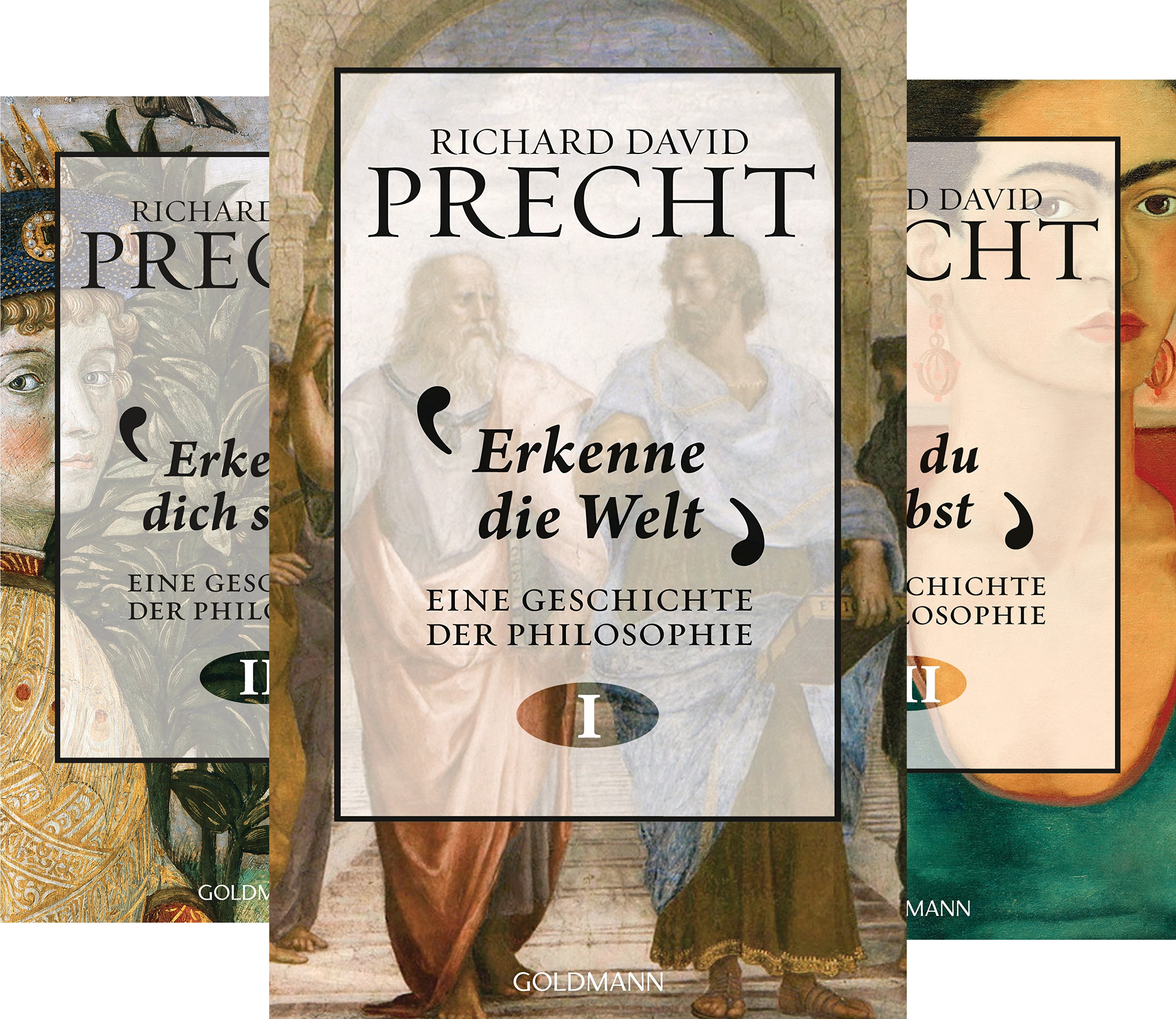 Geschichte der Philosophie (Reihe in 3 Bänden)