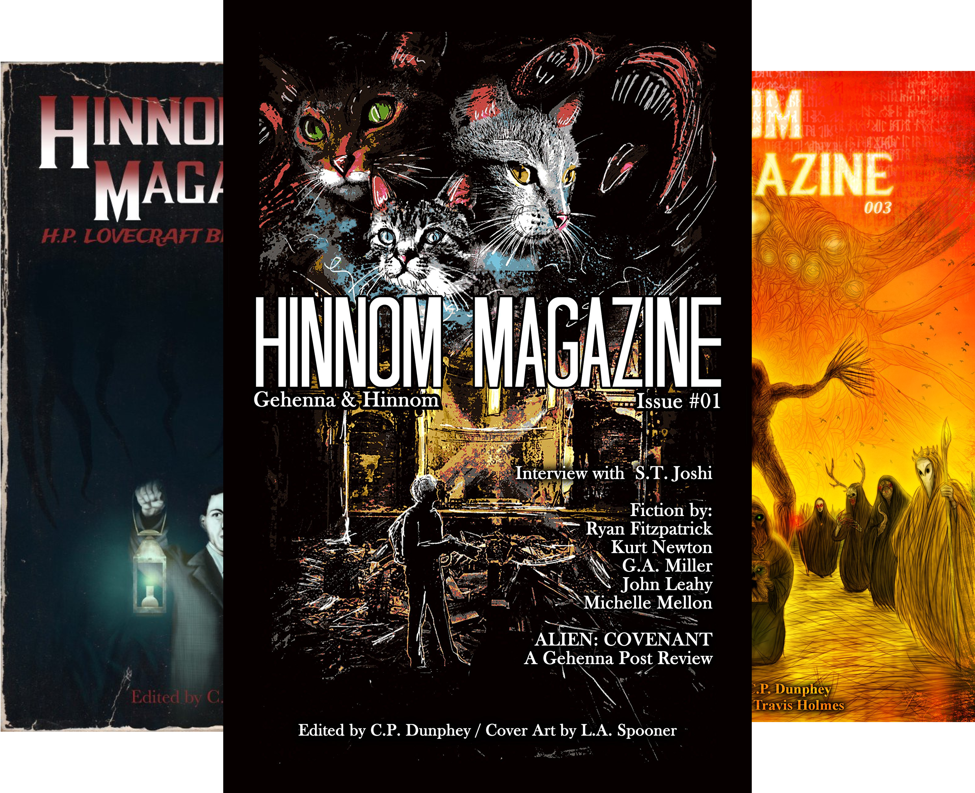 Ryan Jack Hamilton (Hinnom Magazine (5 Book Series))