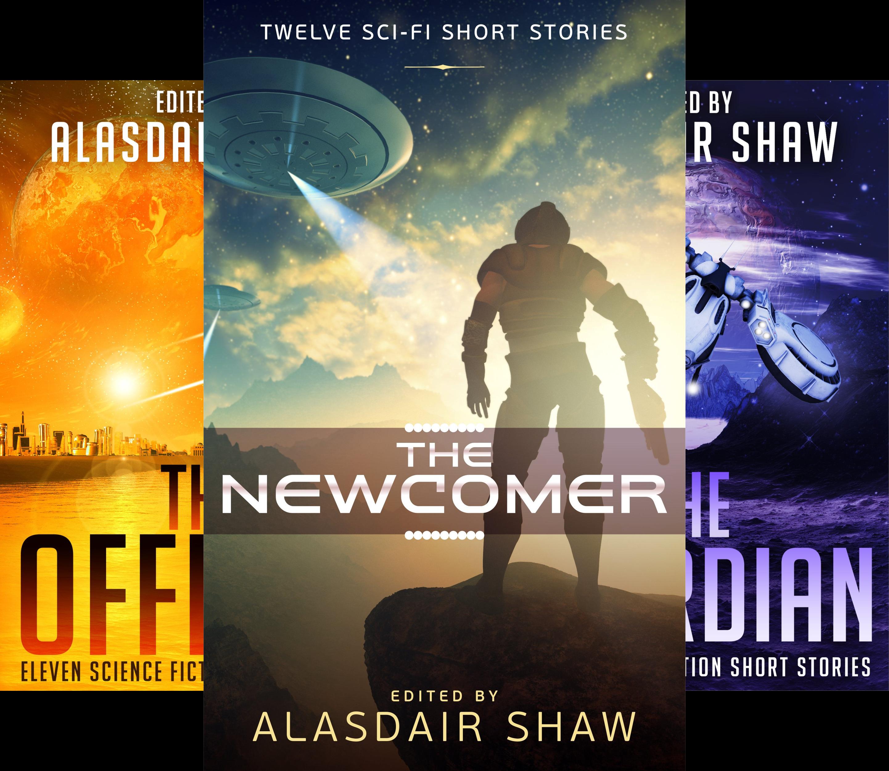 Scifi Anthologies (3 Book Series)