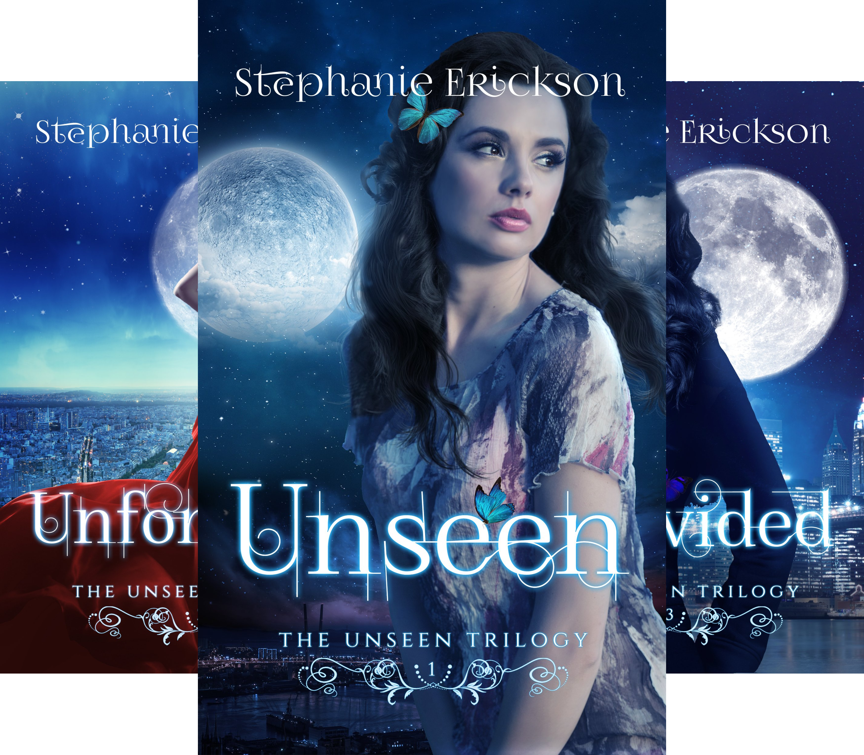 The Unseen Trilogy (3 Book Series)