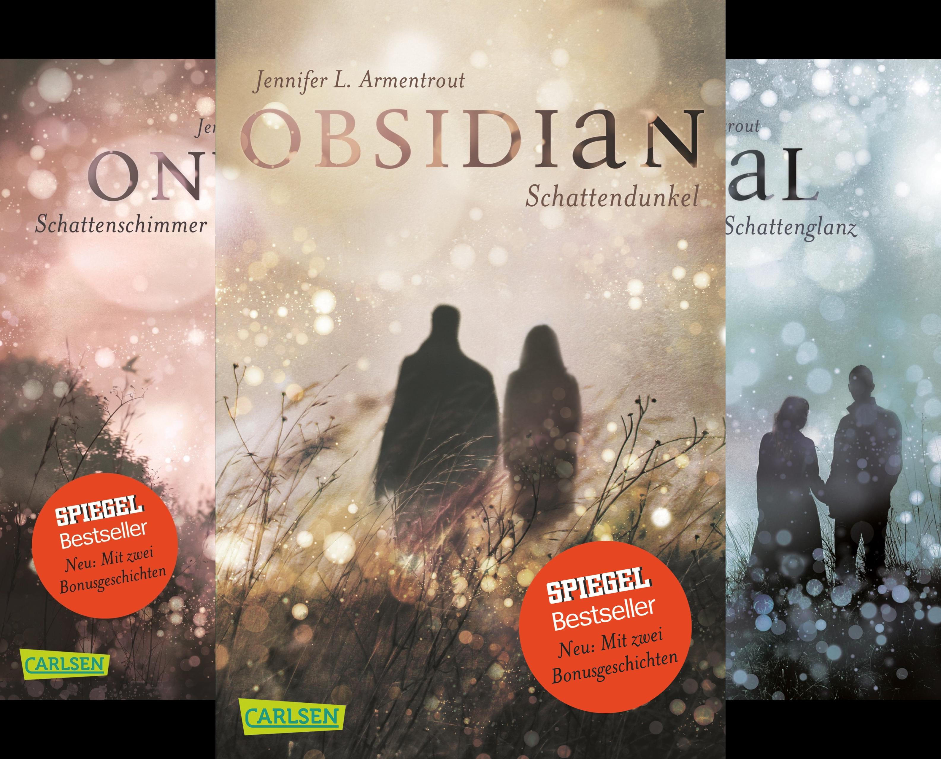 Buchcover Obsidian (Reihe in 5 Bänden)