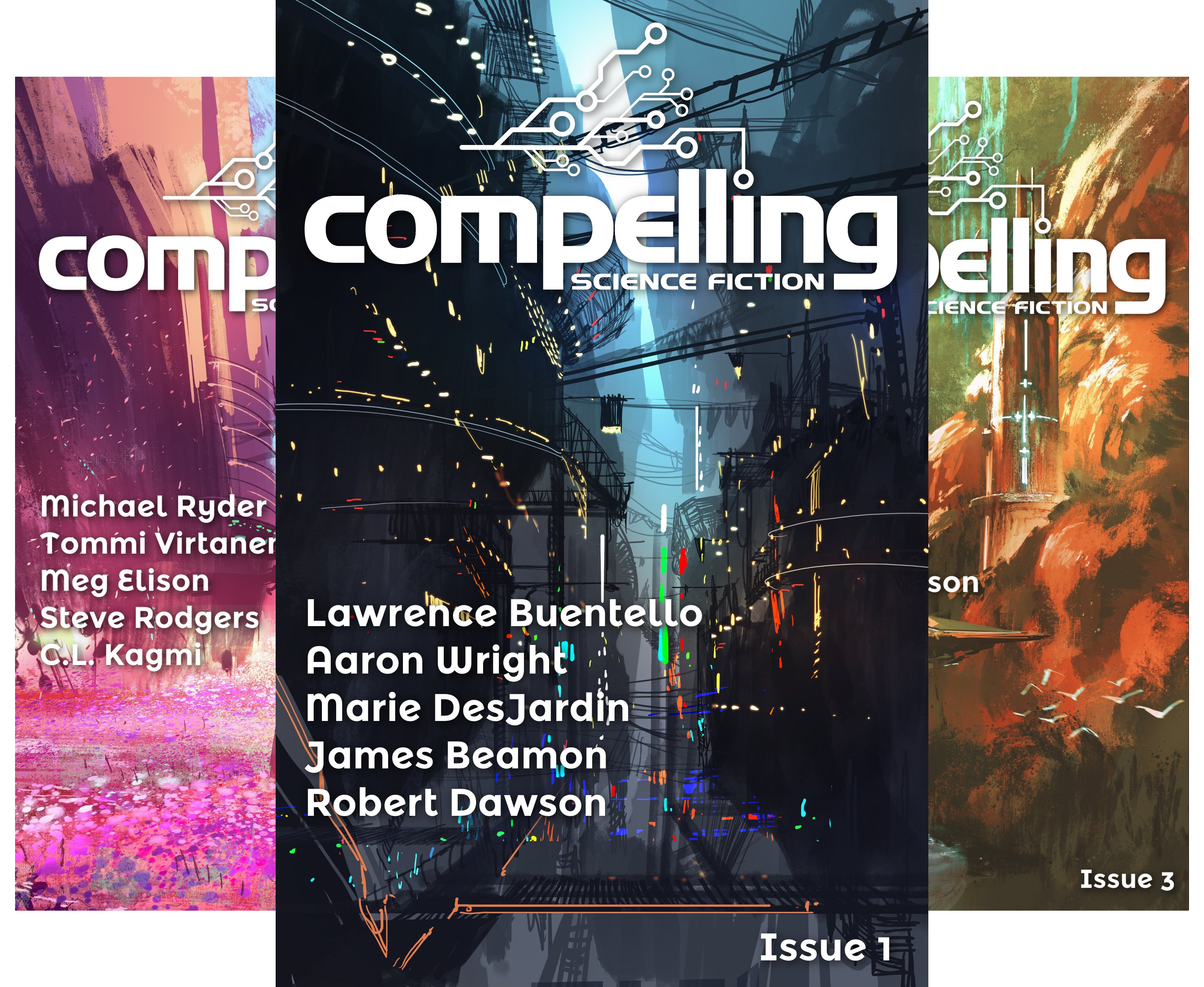 Compelling Science Fiction Issue (10 Book Series)