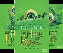 Der Herr der Ringe (Reihe in 3 Bänden) von  J.R.R. Tolkien