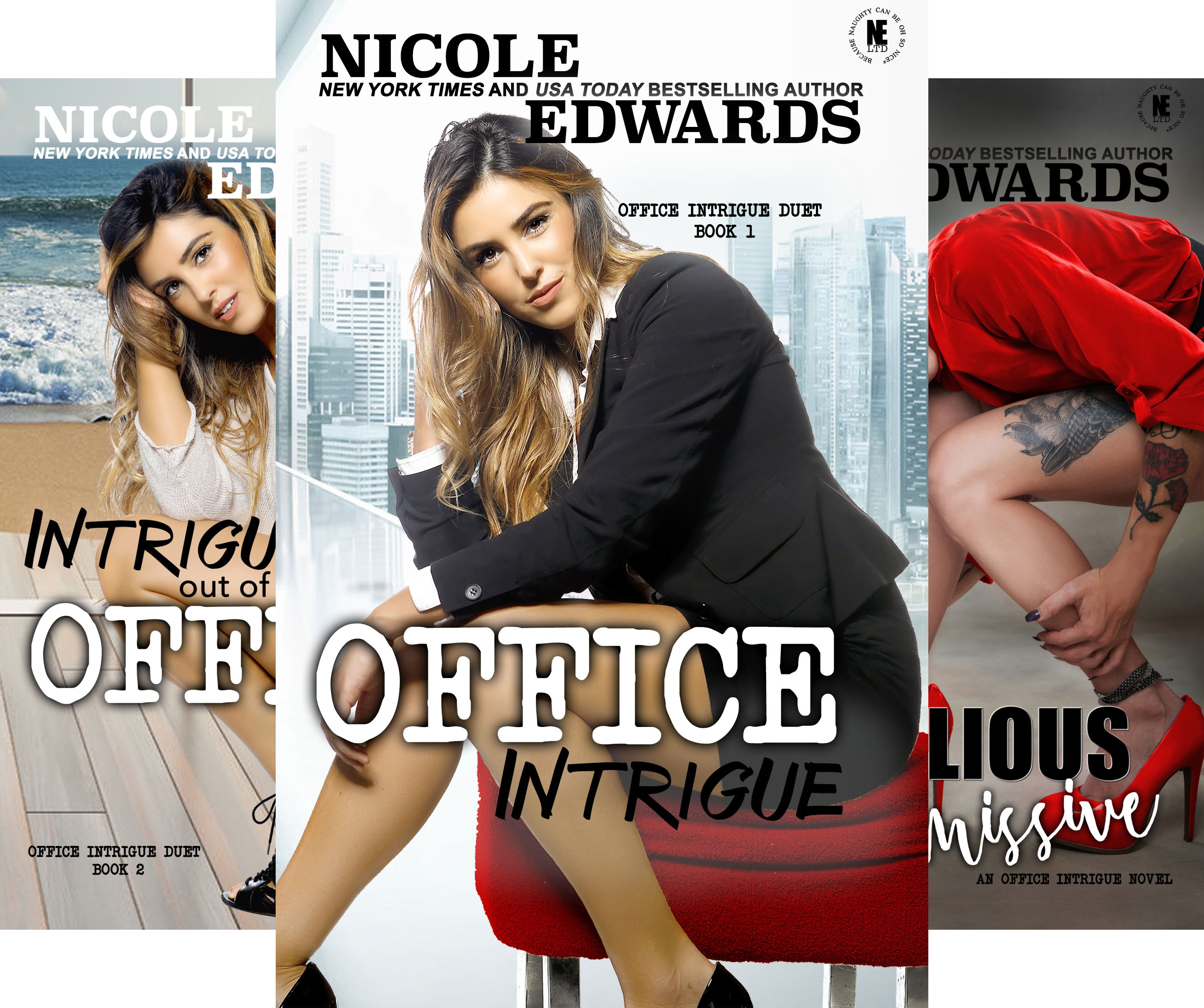 Office Intrigue Duet (3 Book Series)