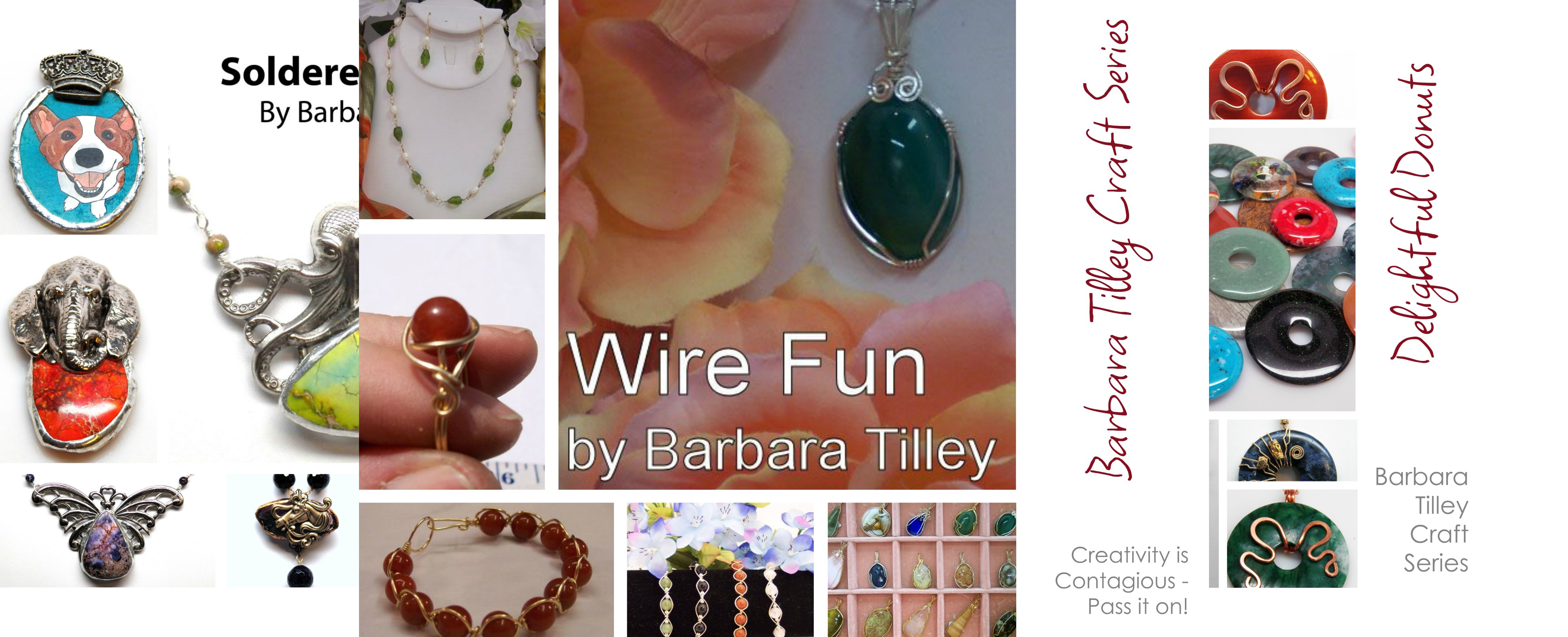 Barbara Tilley Craft Series (3 Book Series)