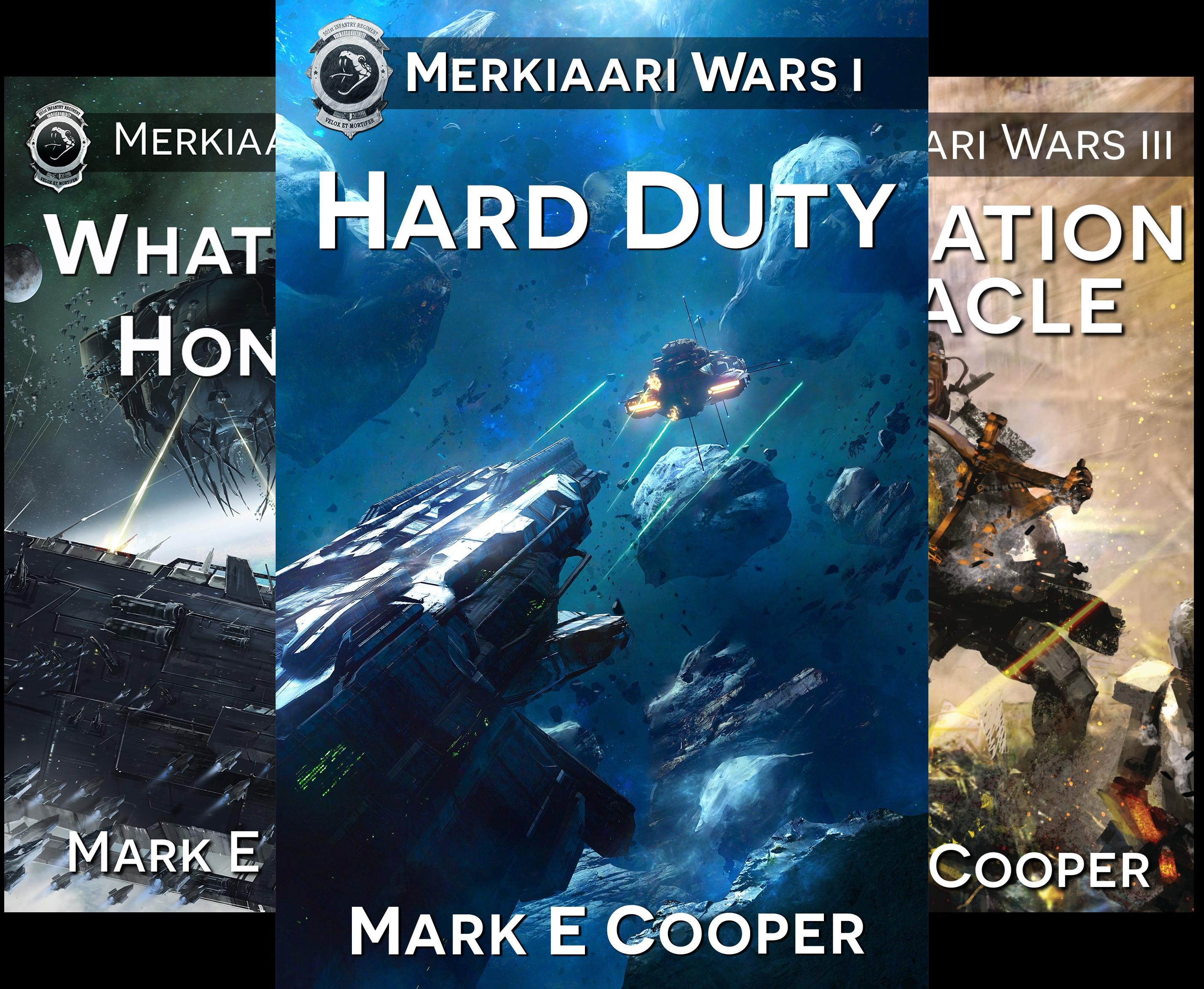 Merkiaari Wars (5 Book Series)