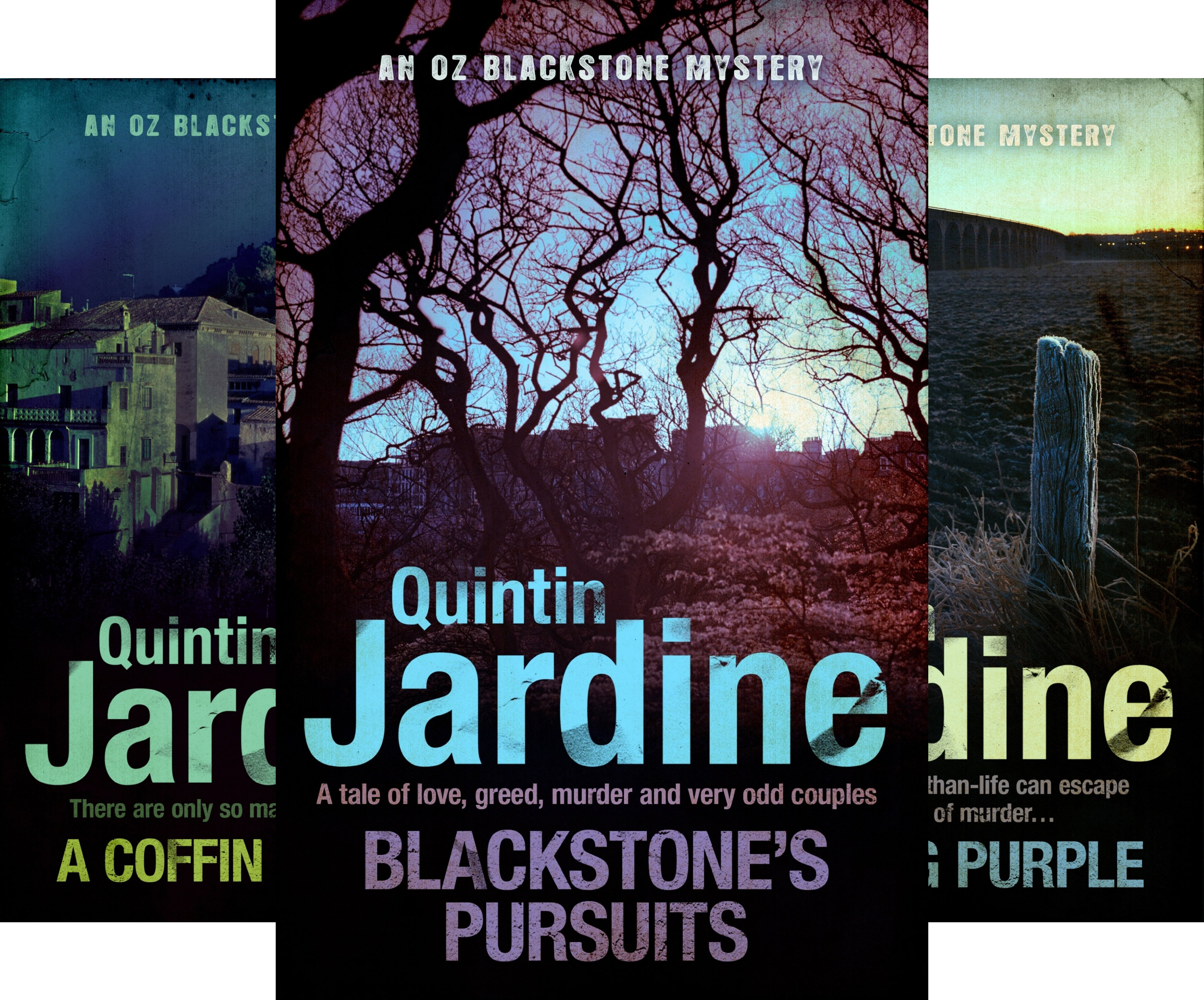 Oz Blackstone Mysteries (9 Book Series)