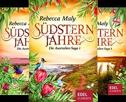 Australien-Saga (Reihe in 5 Bänden) von  Rebecca Maly