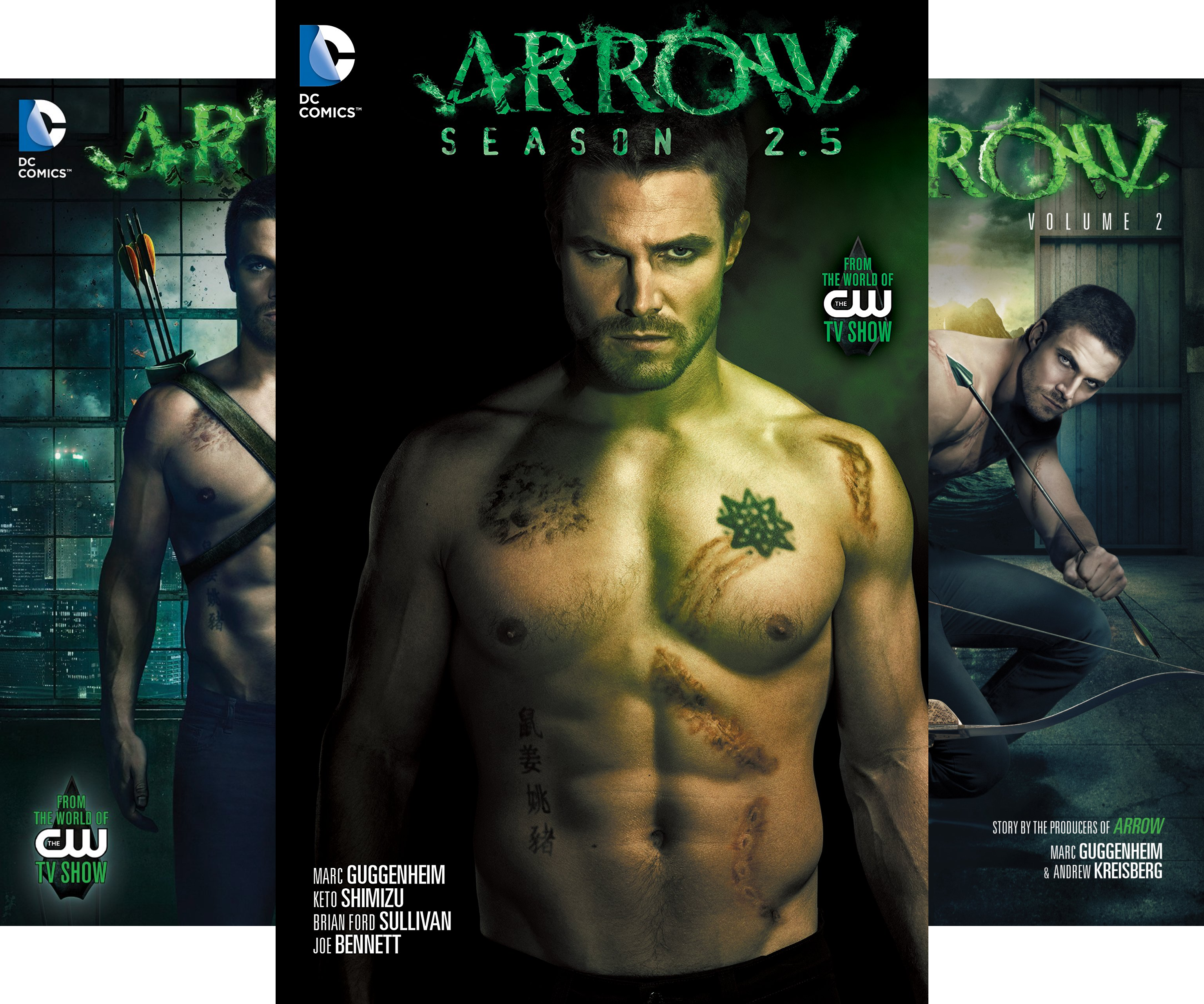 arrow-2012-2015-collections-3-book-series