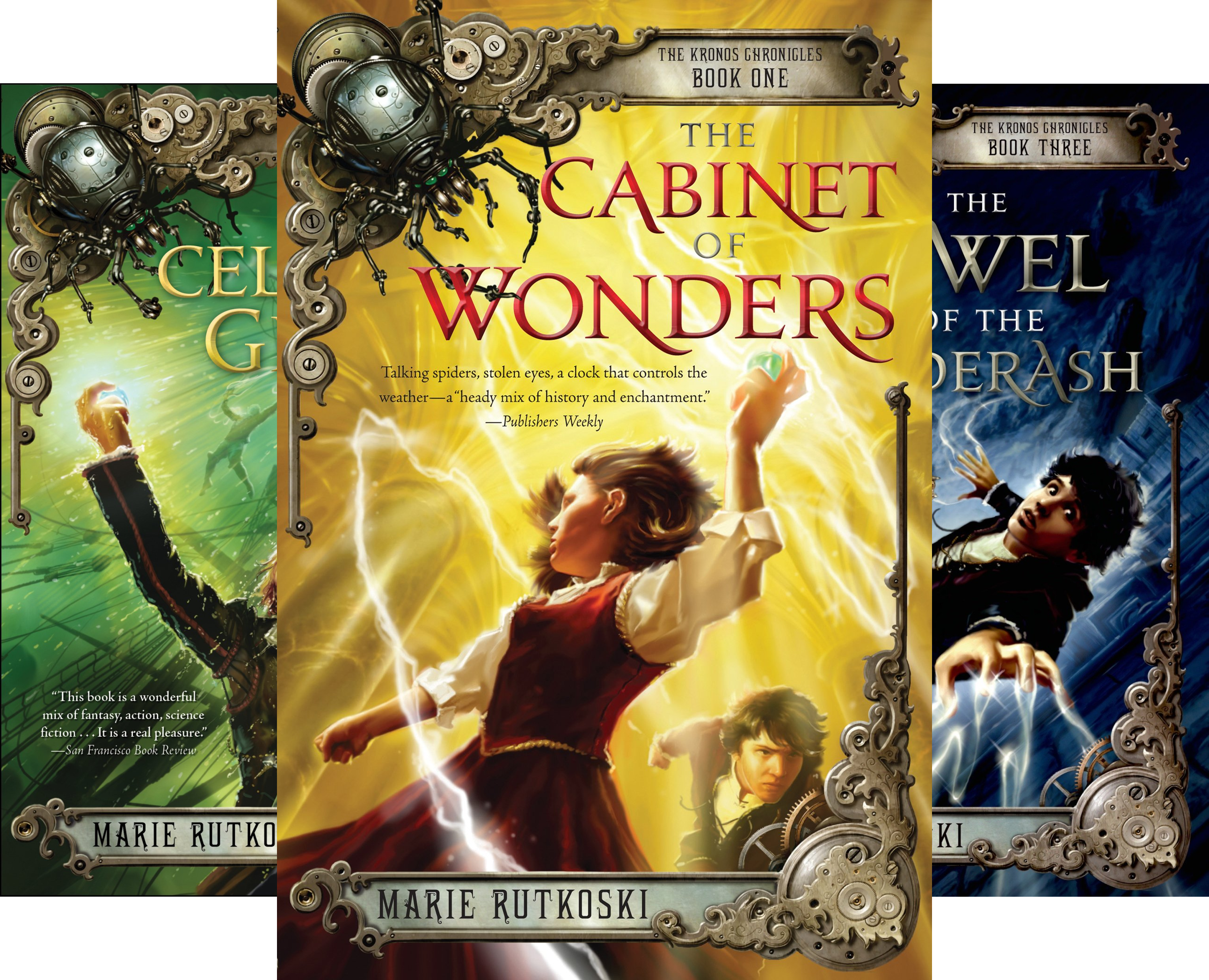The Kronos Chronicles (3 Book Series)