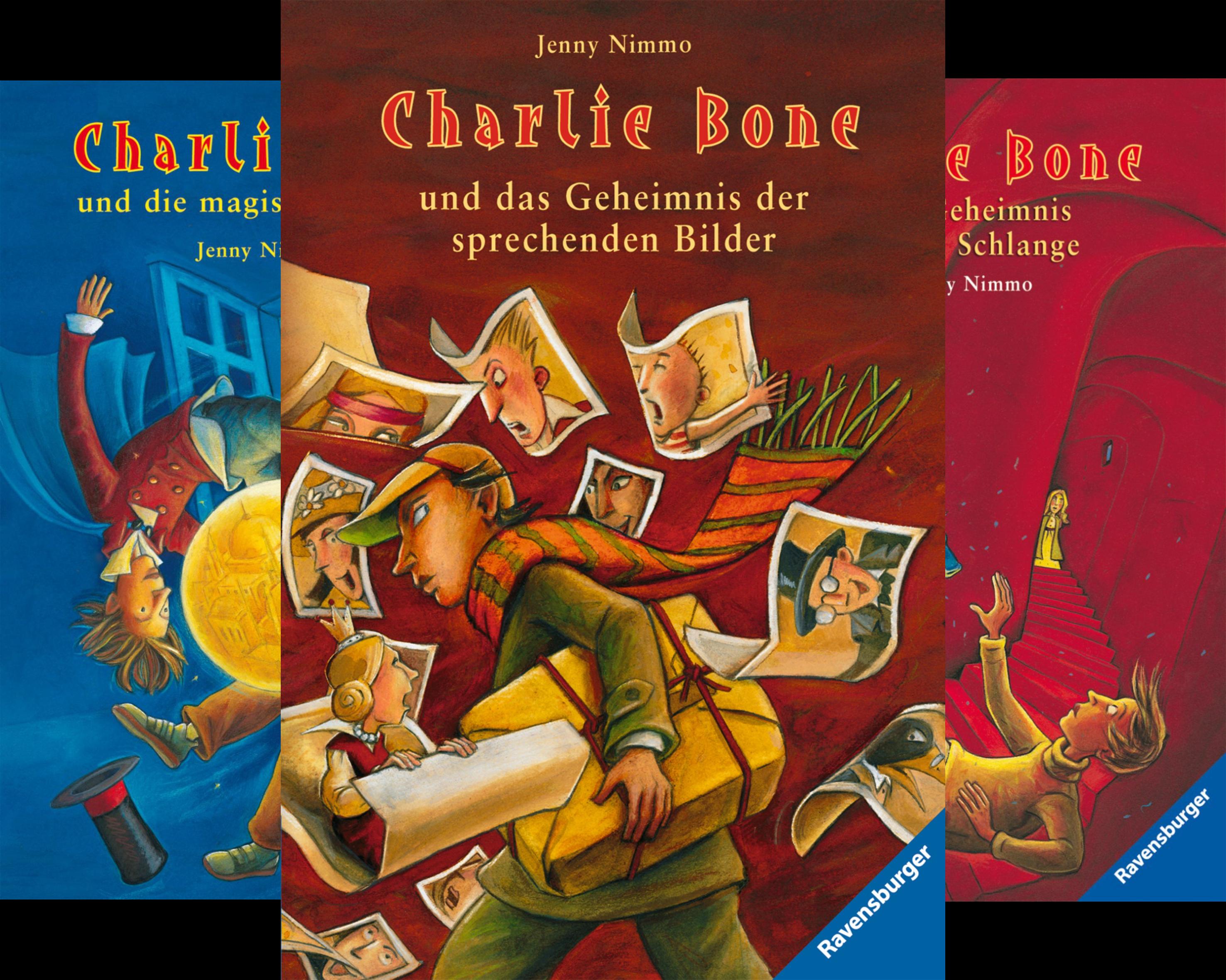Charlie Bone (Reihe in 8 Bänden)