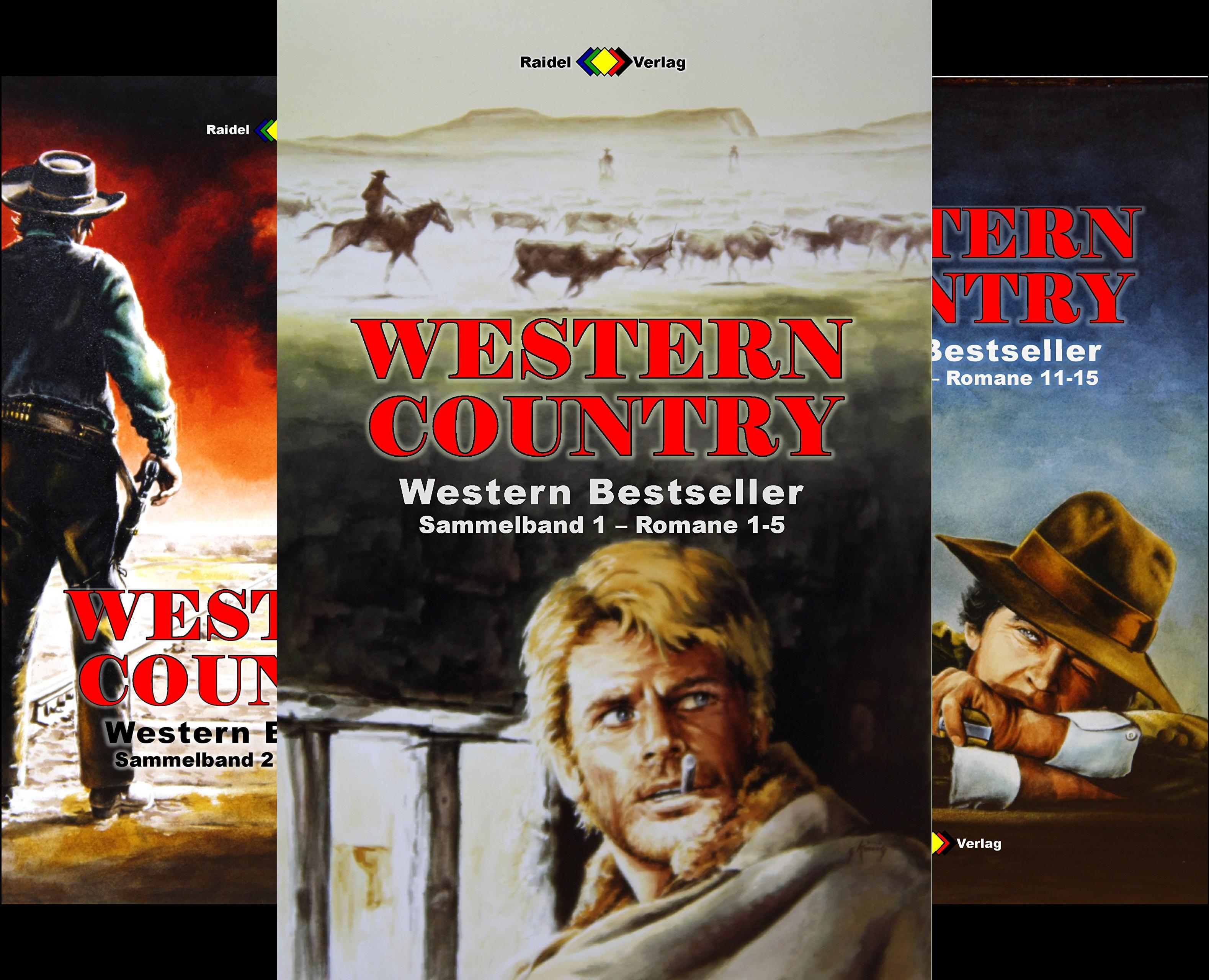 Western Country Sammelband (Reihe in 50 Bänden)