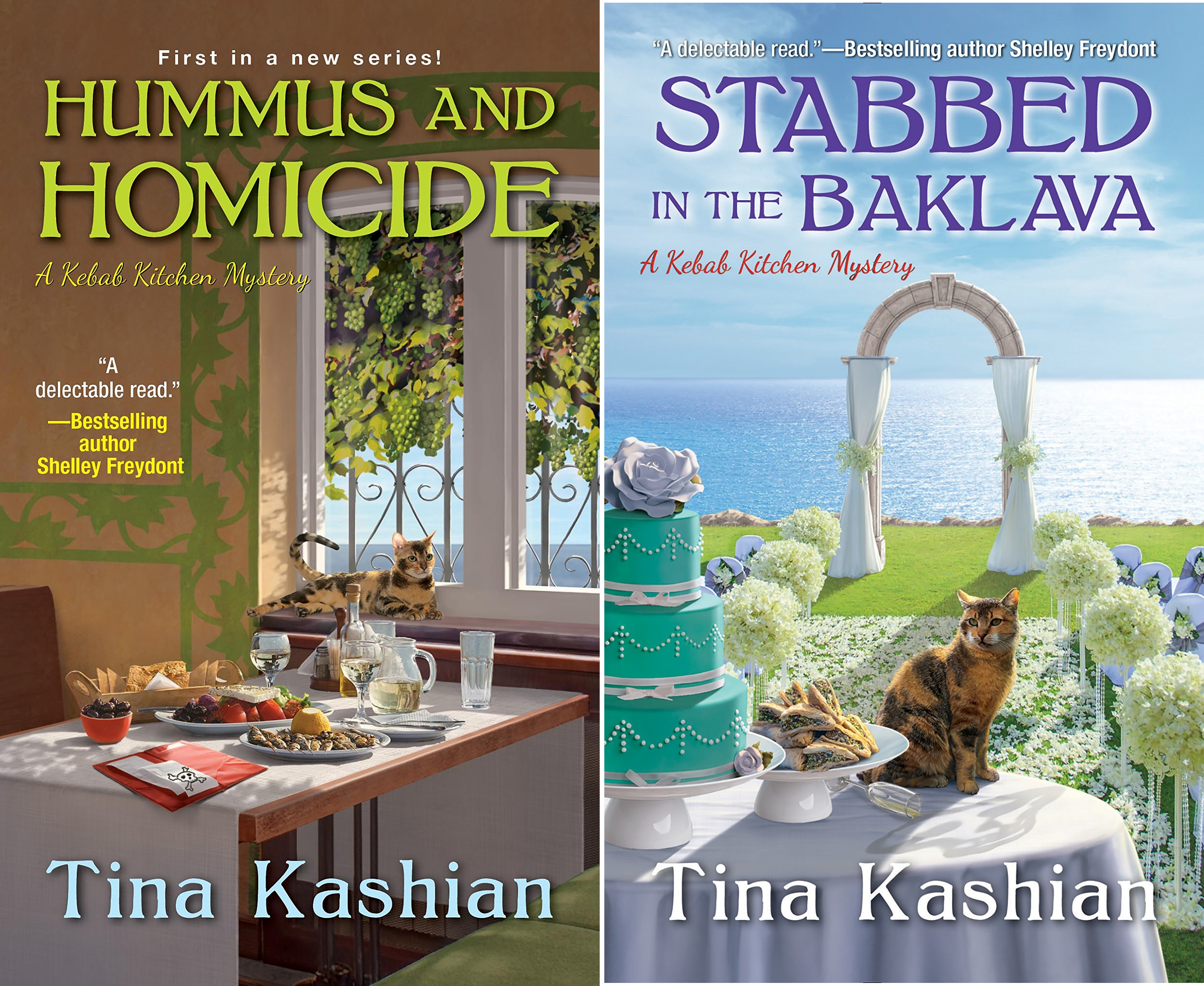 A Kebab Kitchen Mystery (2 Book Series)