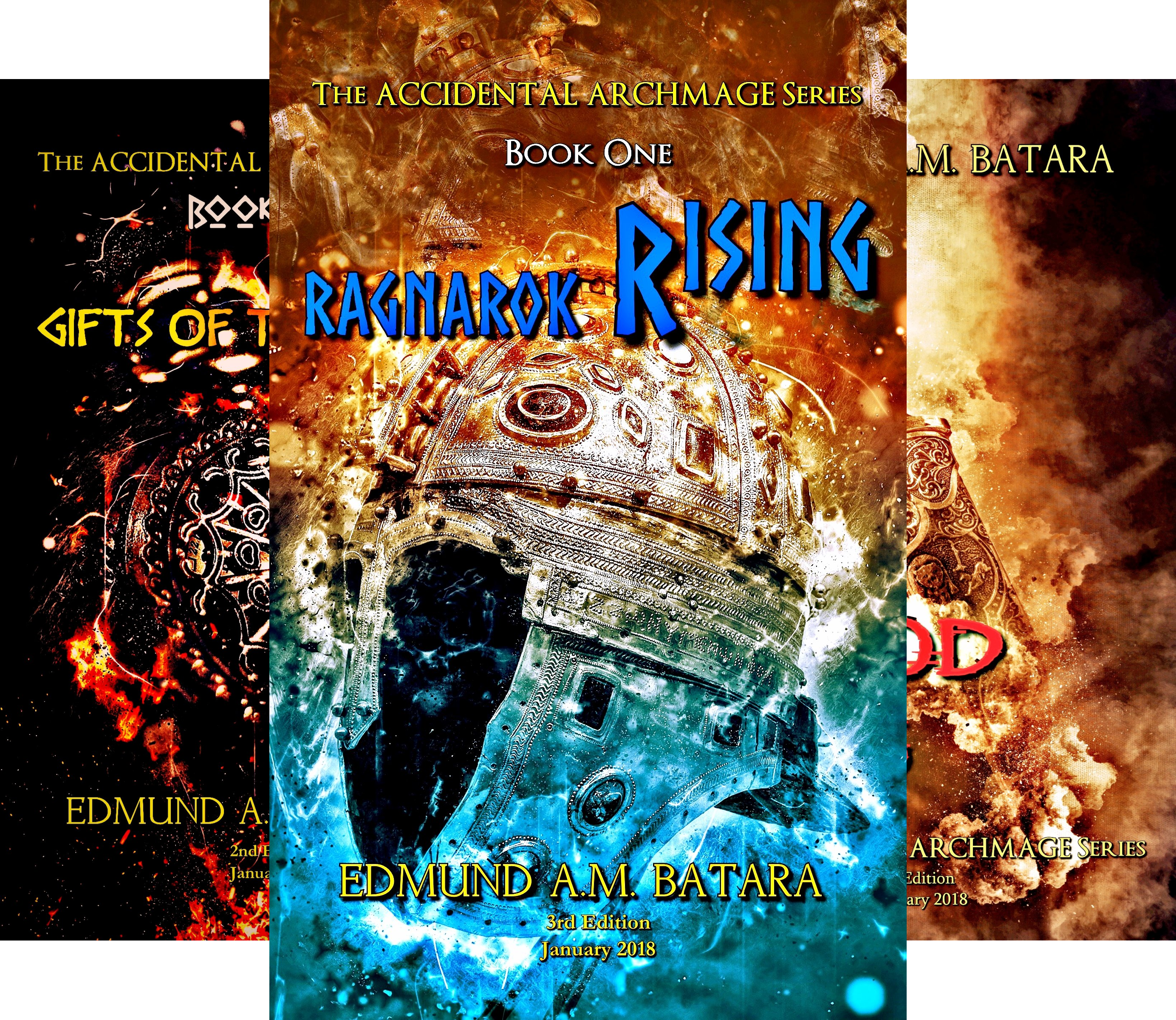 The Accidental Archmage (3 Book Series)
