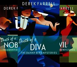 The Danny Bird Mysteries (3 Book Series) by  Derek Farrell