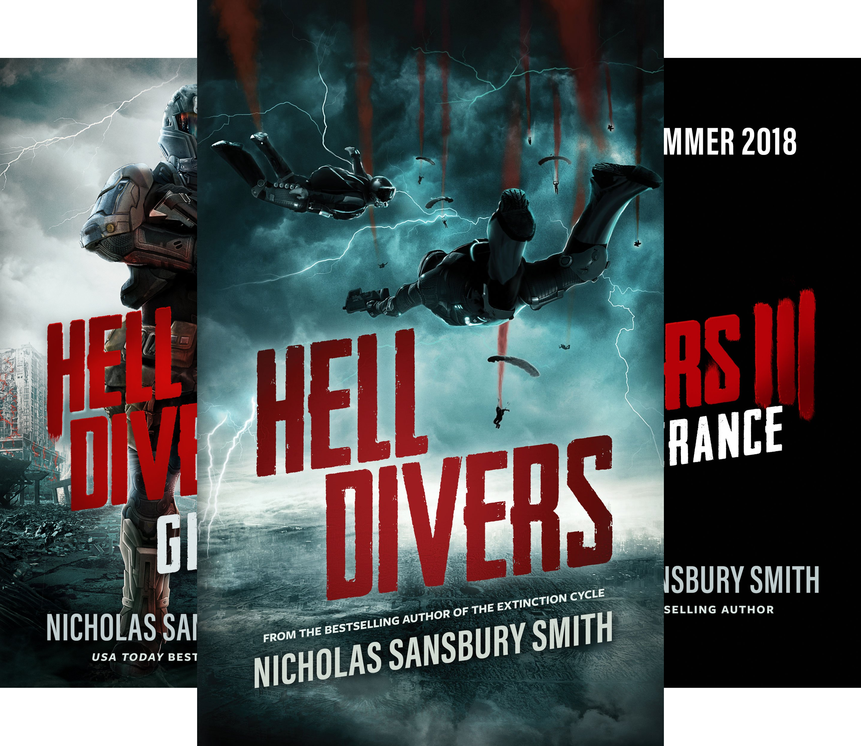 The Hell Divers Trilogy (3 Book Series)