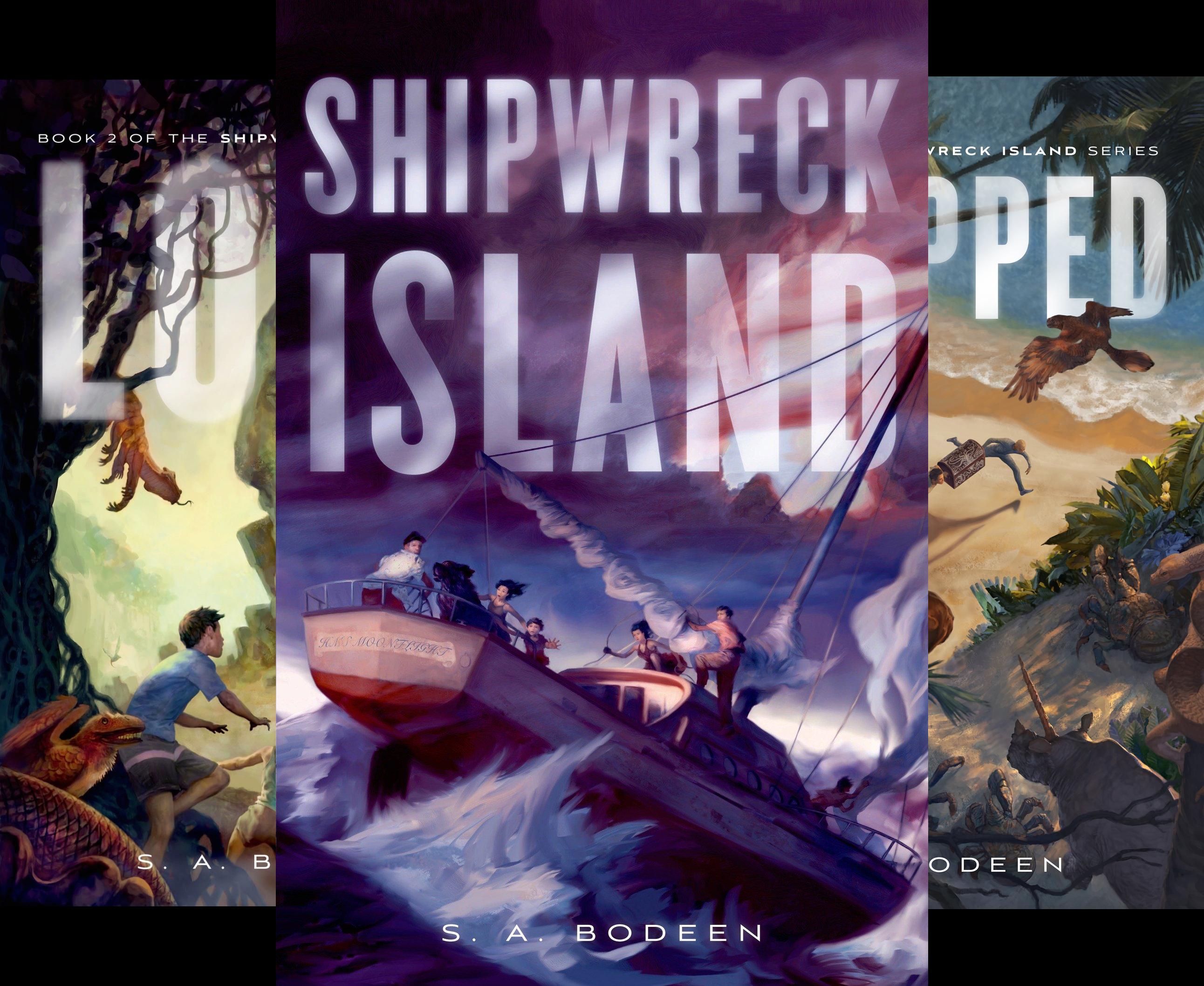 Shipwreck Island (4 Book Series)