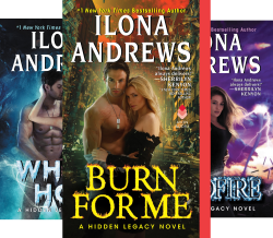 Hidden Legacy (3 Book Series) von  Ilona Andrews