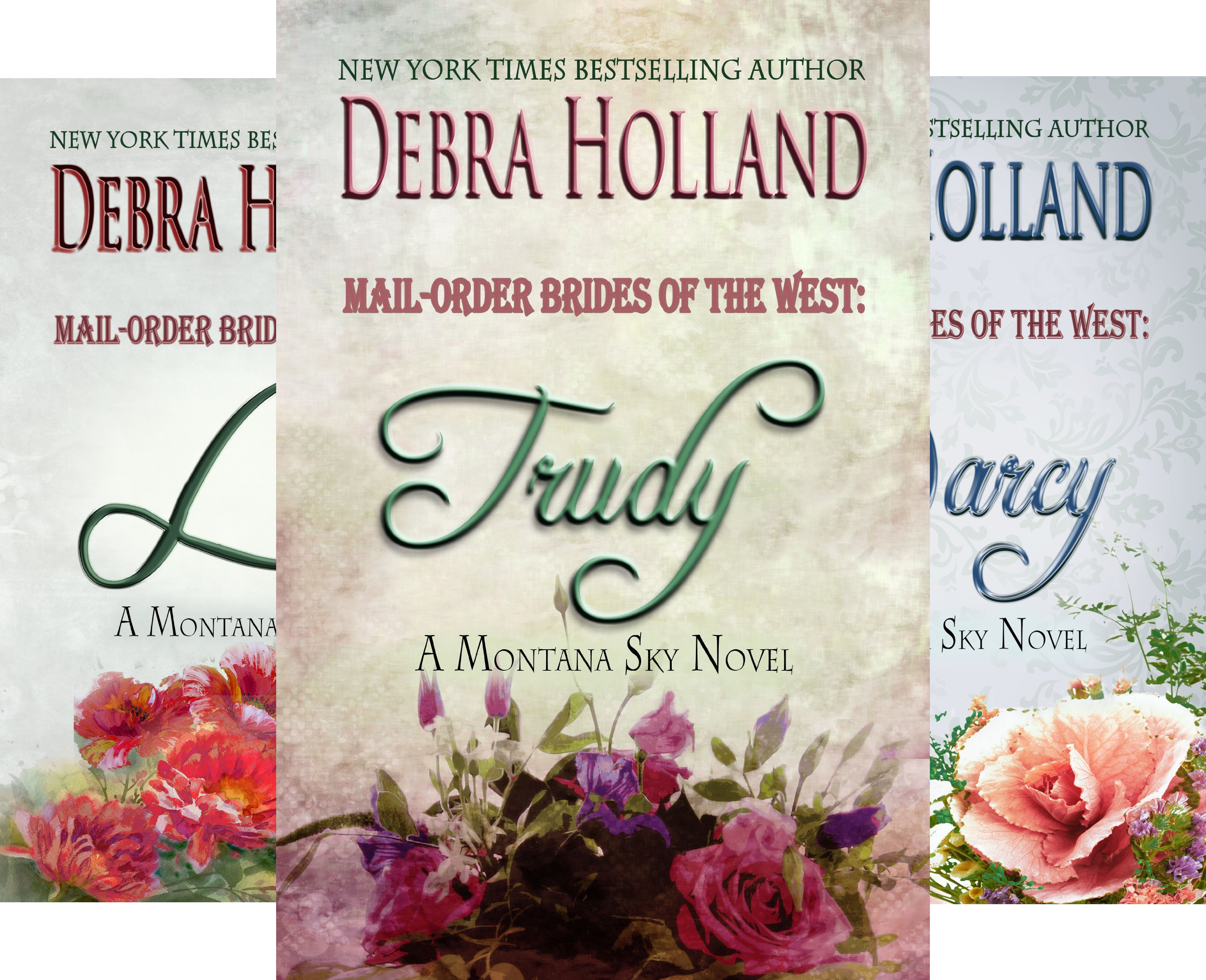Mail-Order Brides of the West Series (5 Book Series) (Mail Order Brides Holland)