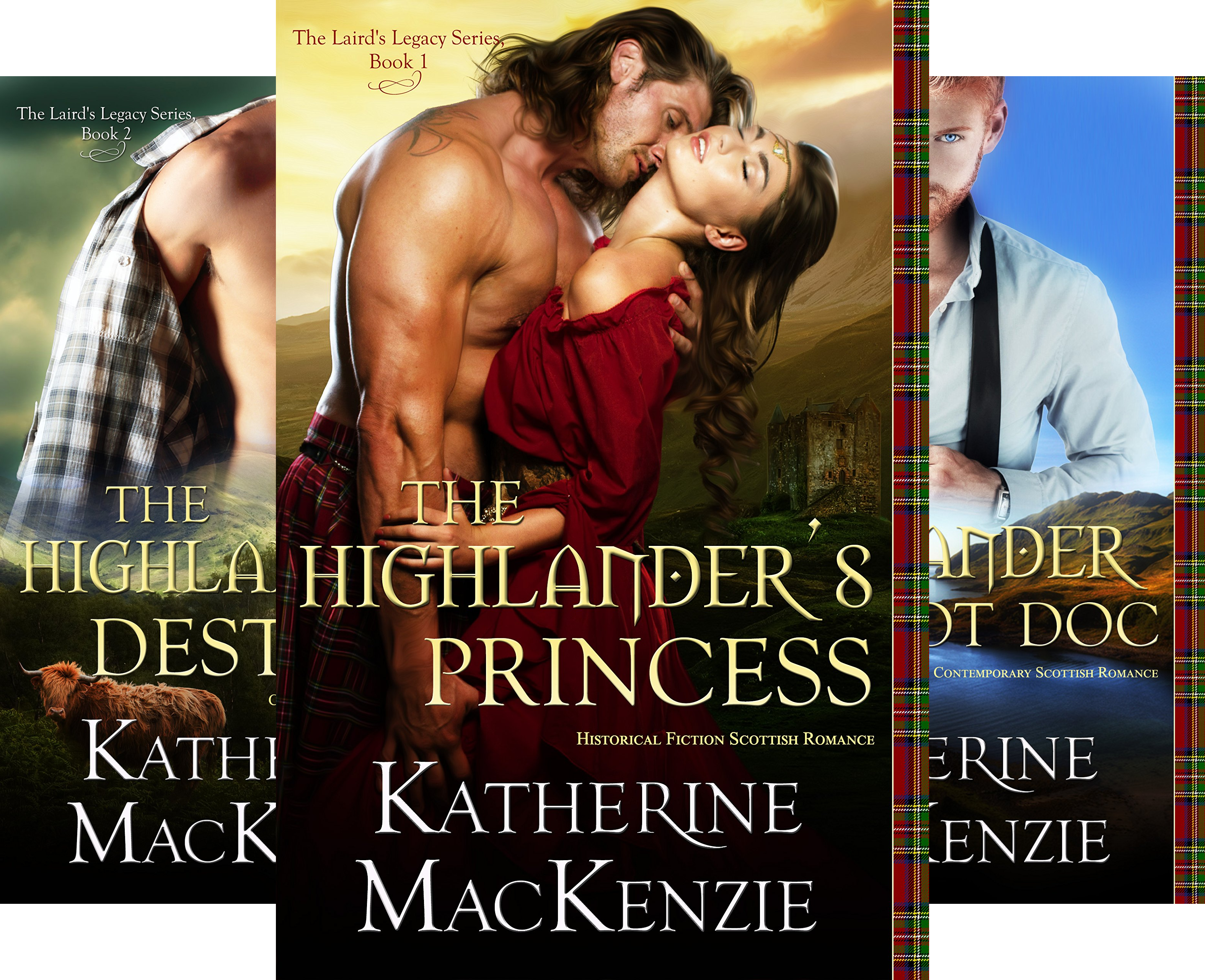The Laird's Legacy (4 Book Series)