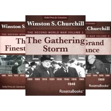 Winston Churchill World War II Collection (6 Book Series)