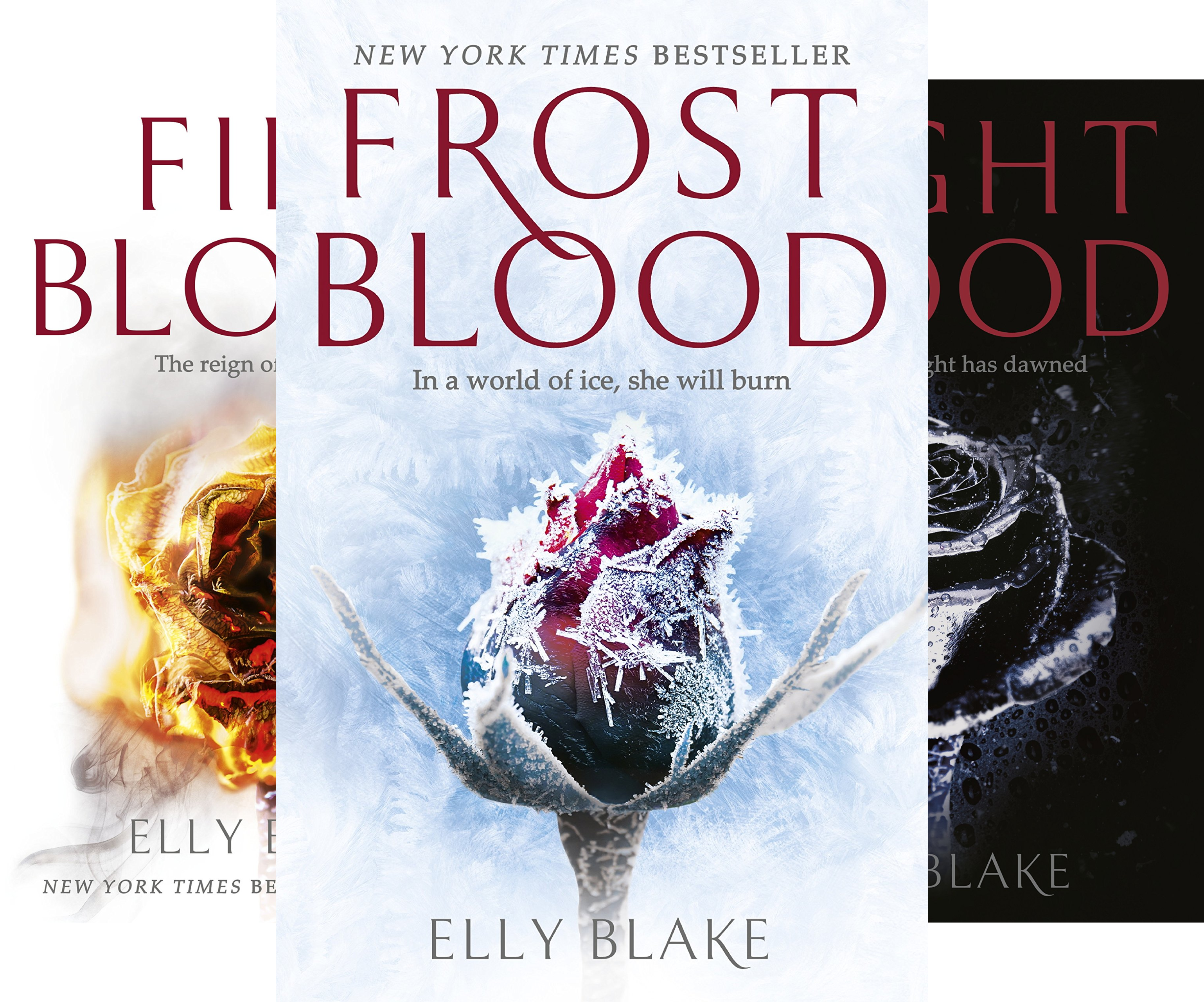 The Frostblood Saga (3 Book Series)