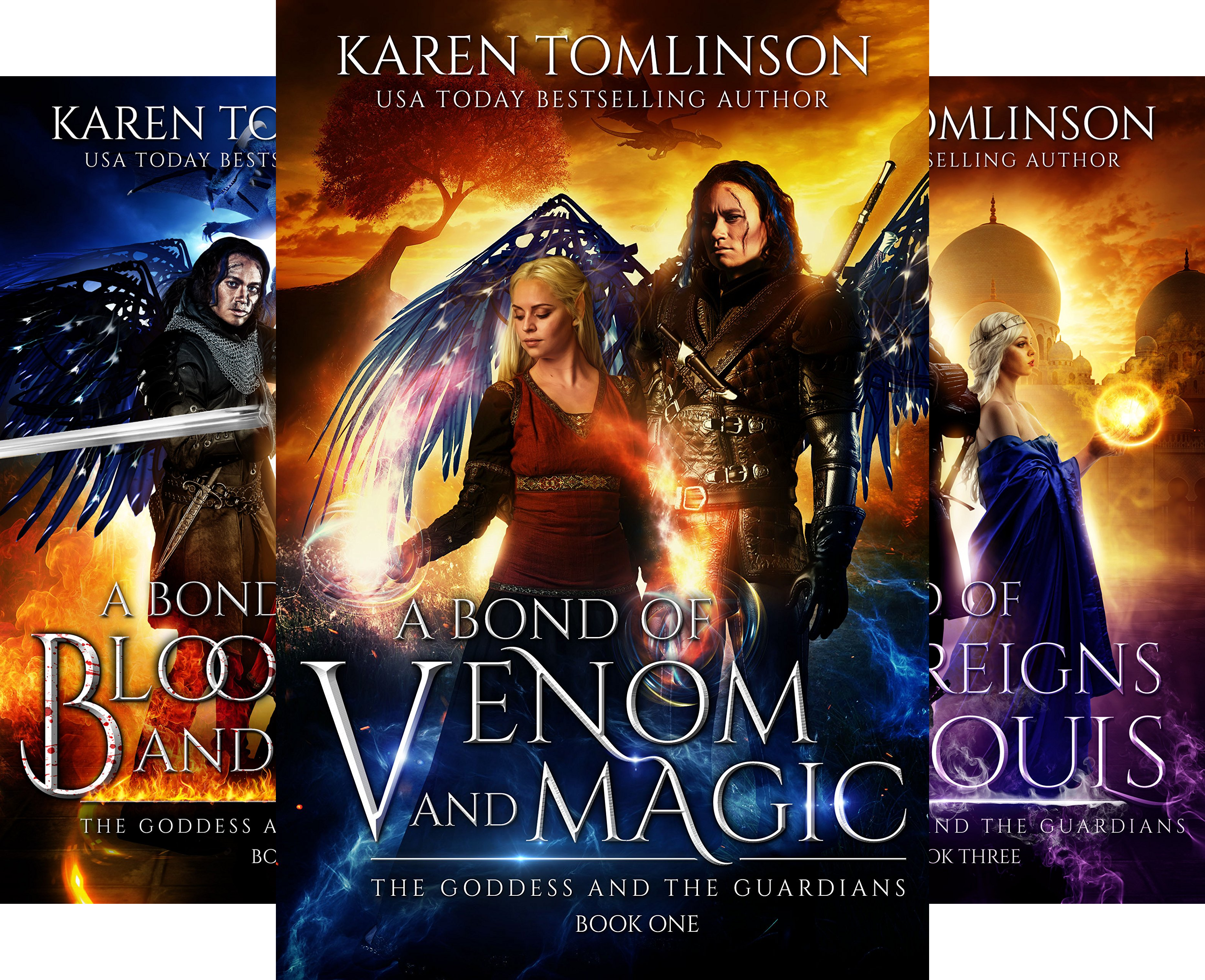 The Goddess and the Guardians (3 Book Series)