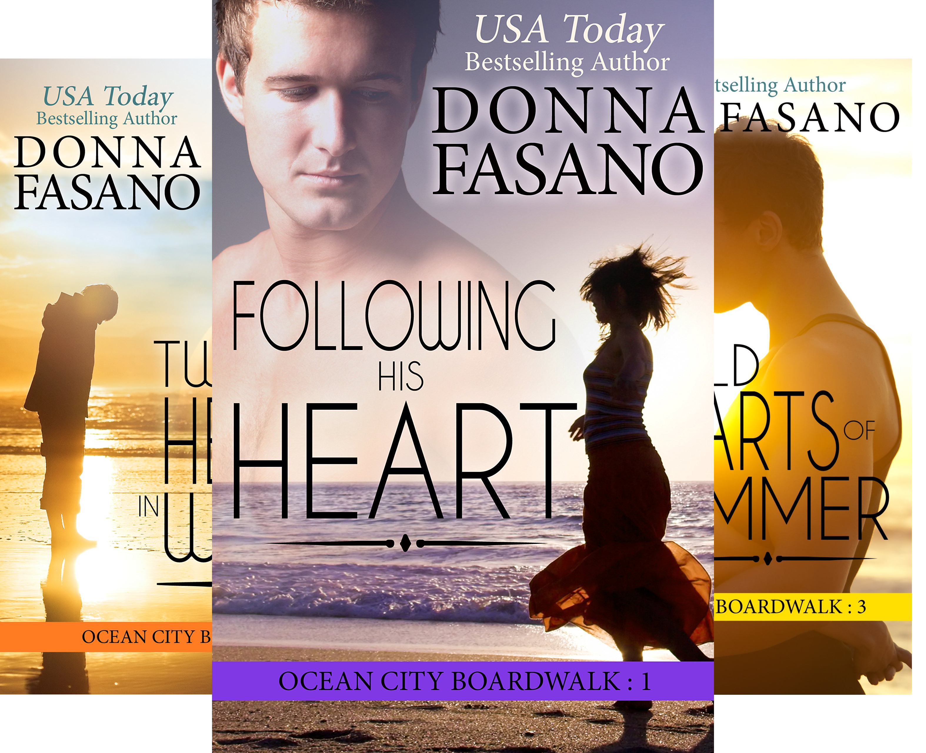 Ocean City Boardwalk Series (7 Book Series)