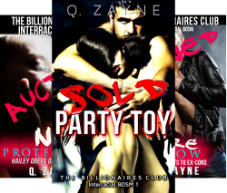 The Billionaires Club Interracial BDSM (6 Book Series) by  Q. Zayne