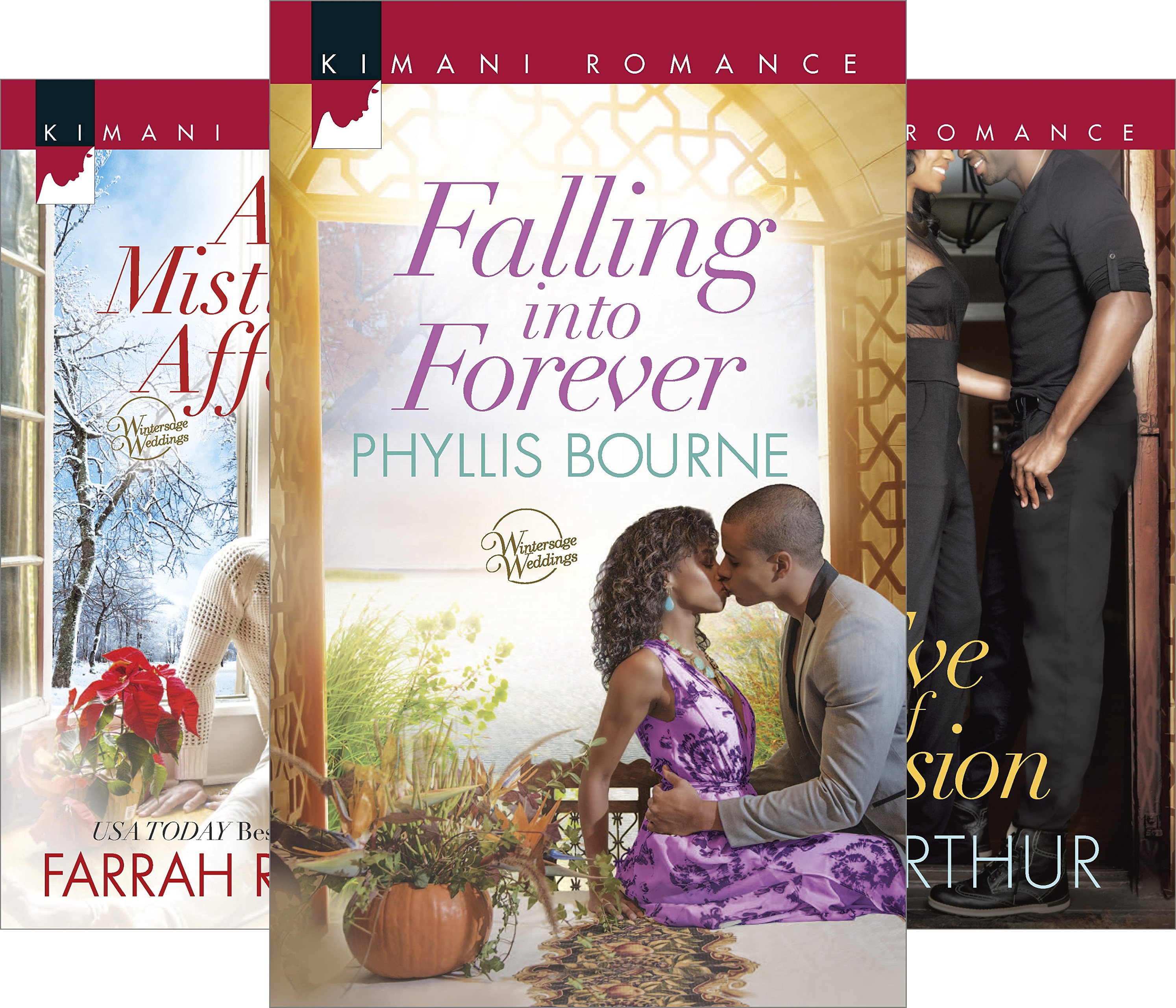 Wintersage Weddings (3 Book Series) (Kindle Phyllis Bourne Edition)