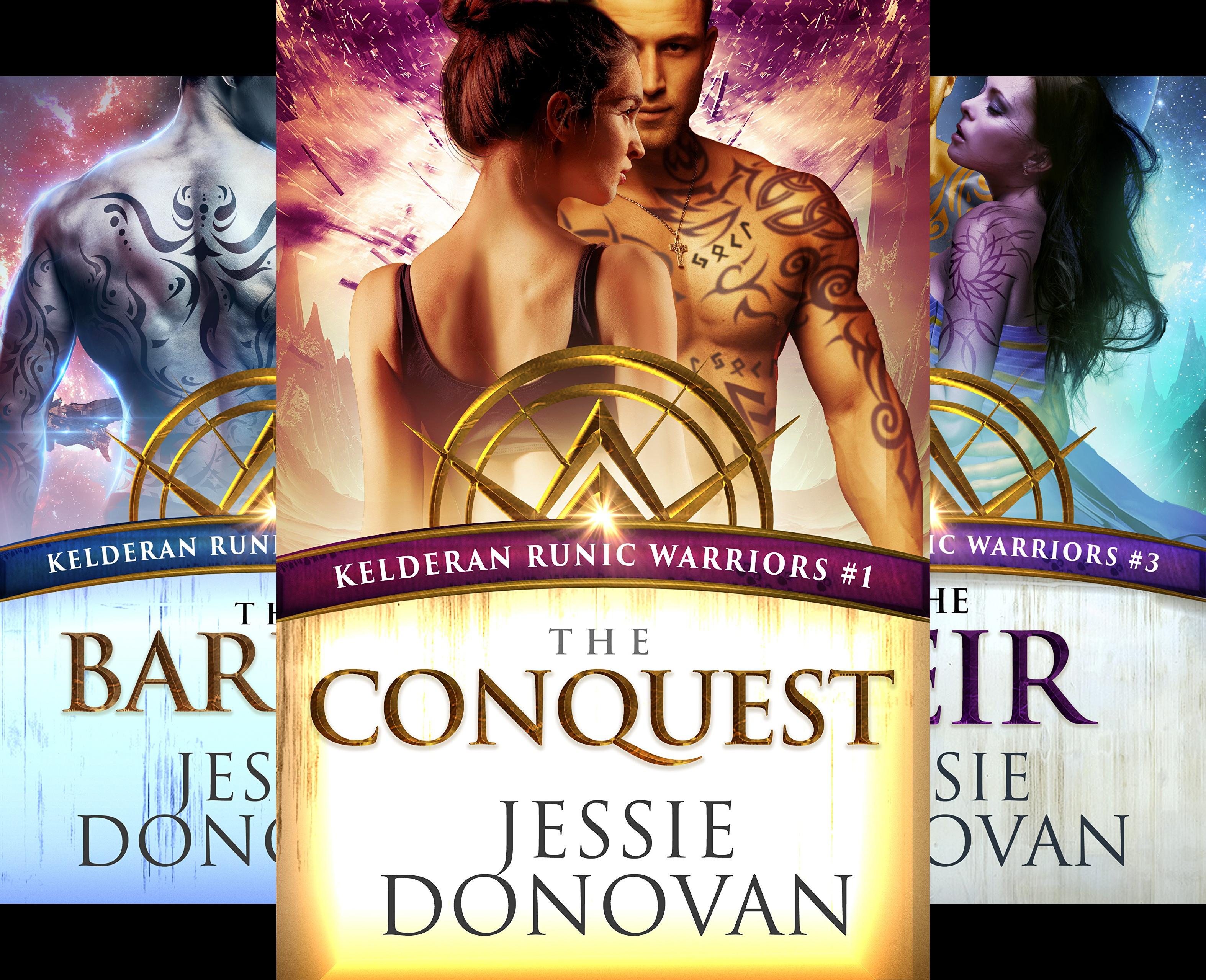 Kelderan Runic Warriors (3 Book Series)