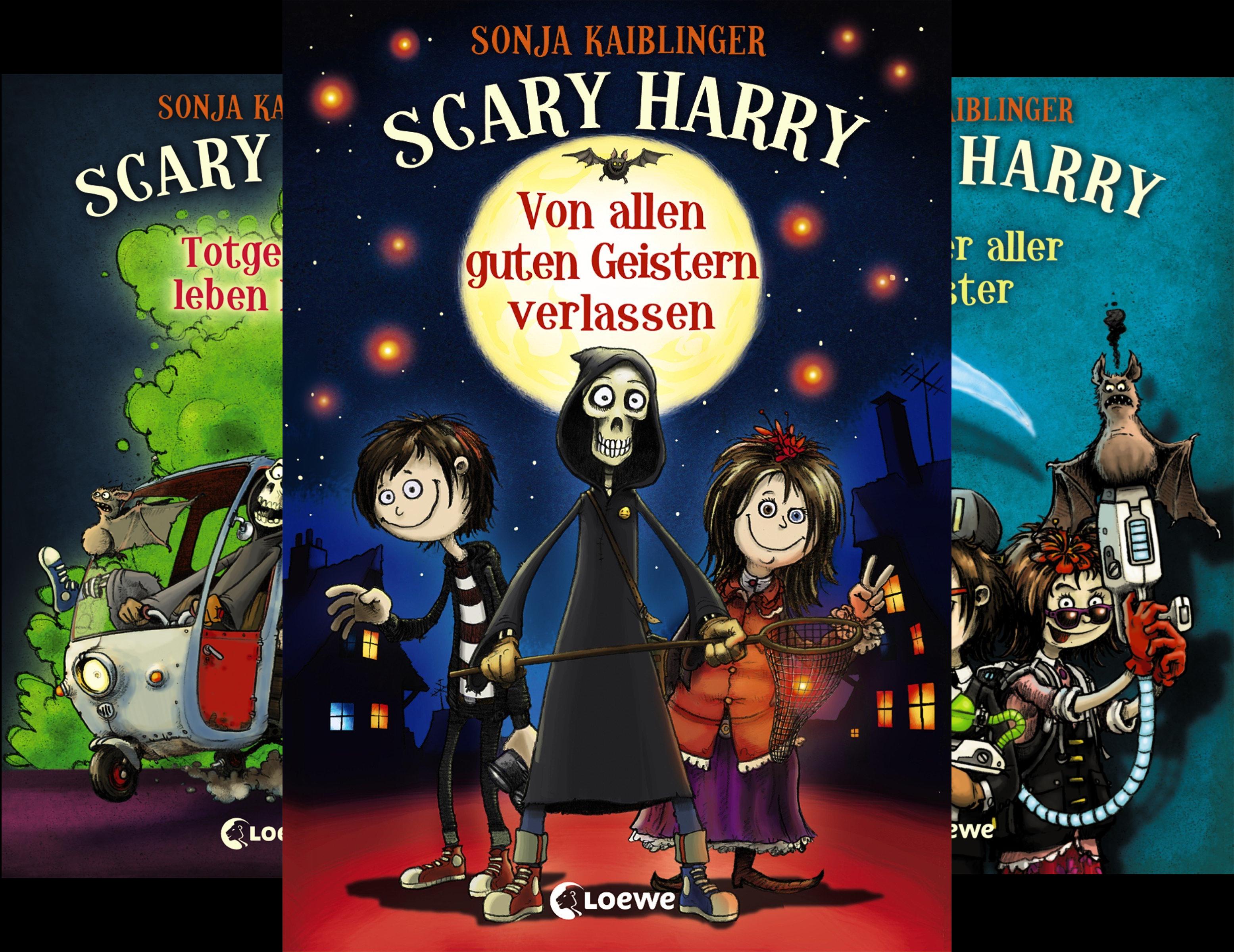 Scary Harry (Reihe in 7 Bänden)