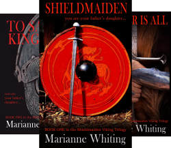 The Shieldmaiden Viking Series (3 Book Series) by  Marianne Whiting