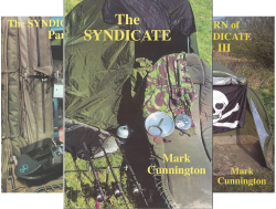 The Syndicate (7 Book Series) by  Mark Cunnington