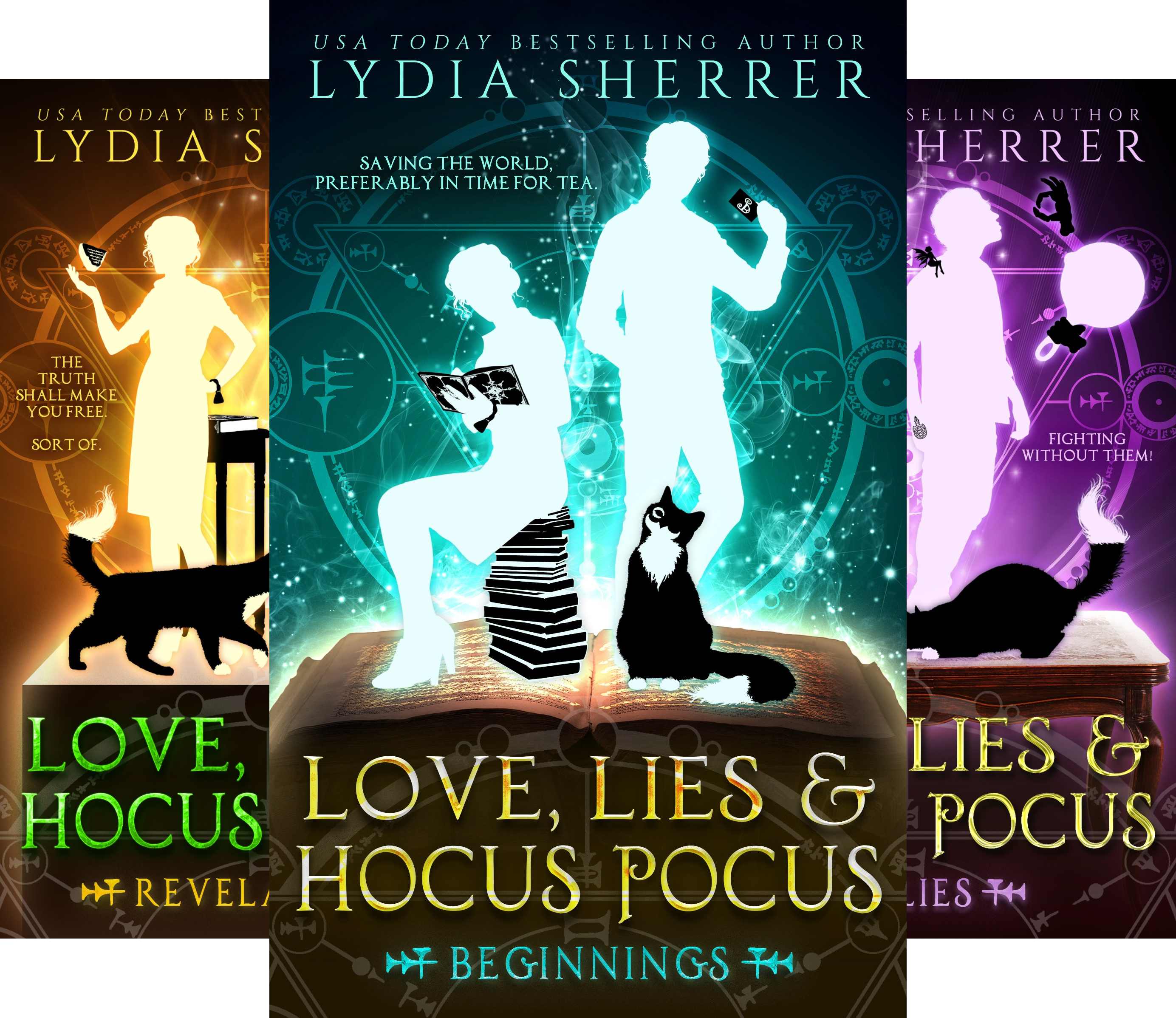 The Lily Singer Adventures (4 Book Series)